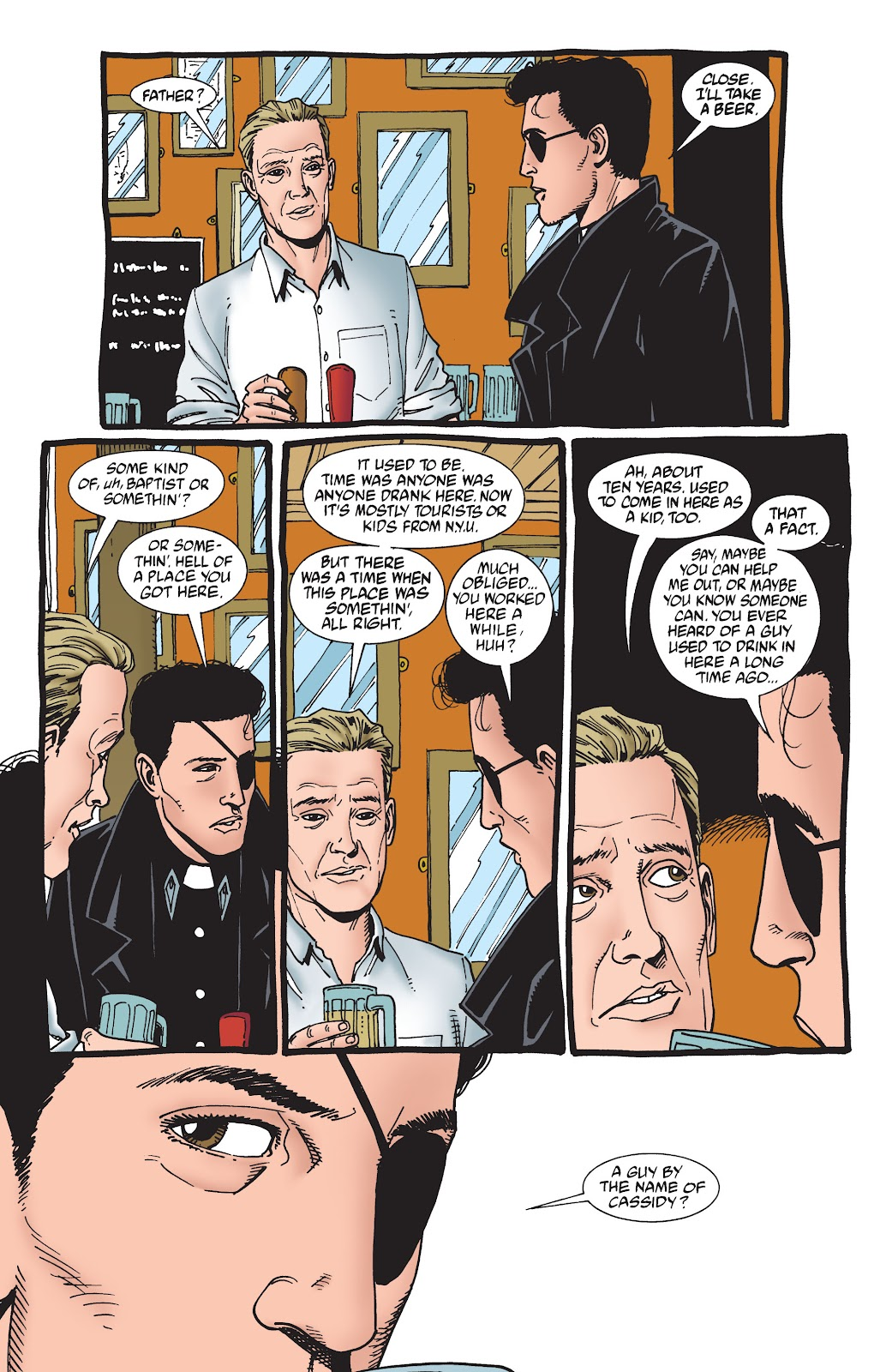 Preacher Issue #55 #64 - English 6