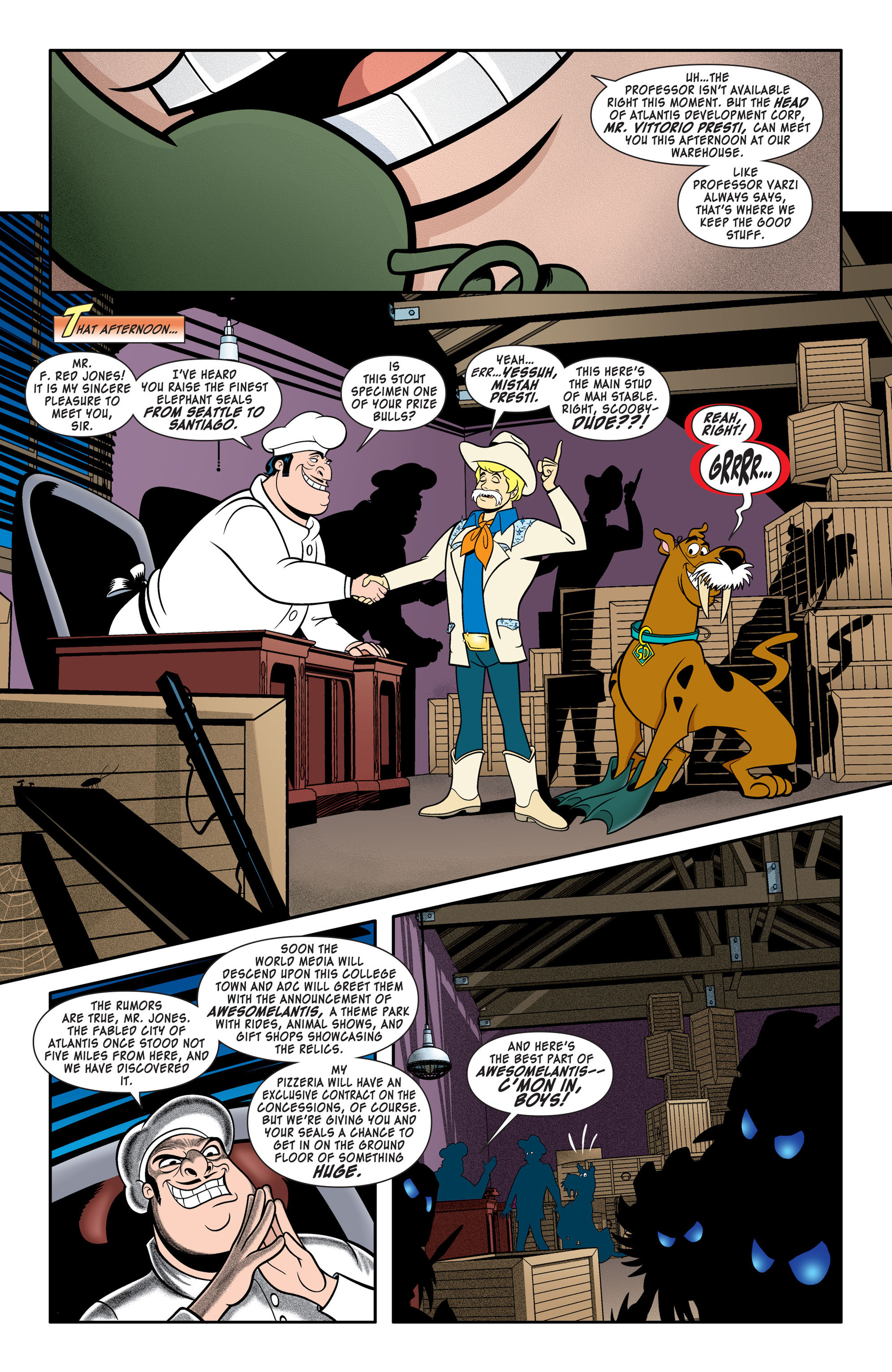 Read online Scooby-Doo: Where Are You? comic -  Issue #46 - 9