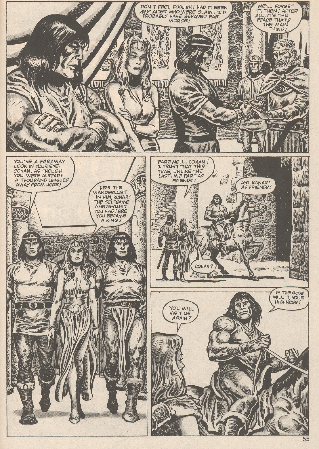 The Savage Sword Of Conan Issue #104 #105 - English 55