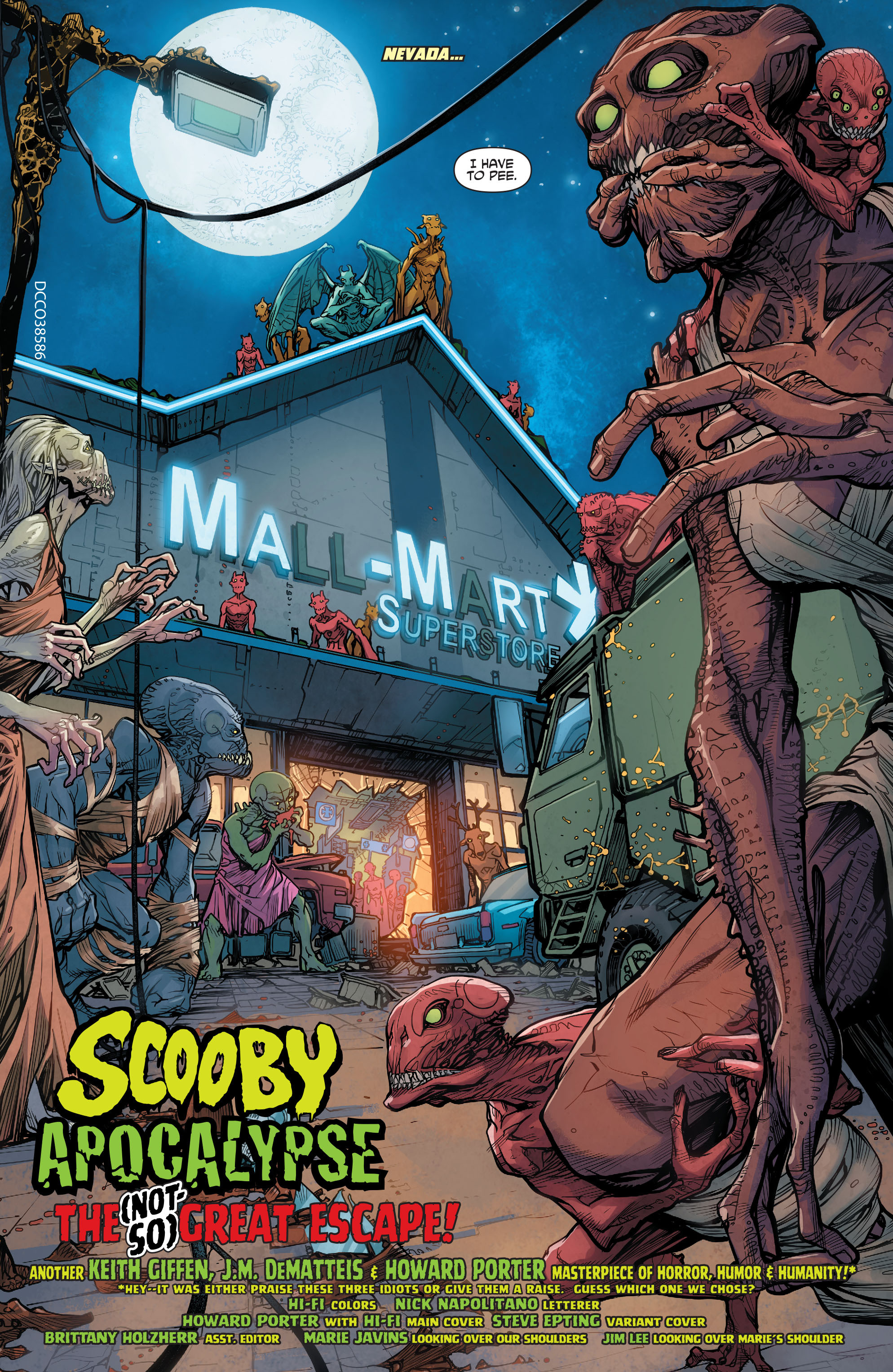 Read online Scooby Apocalypse comic -  Issue #7 - 4