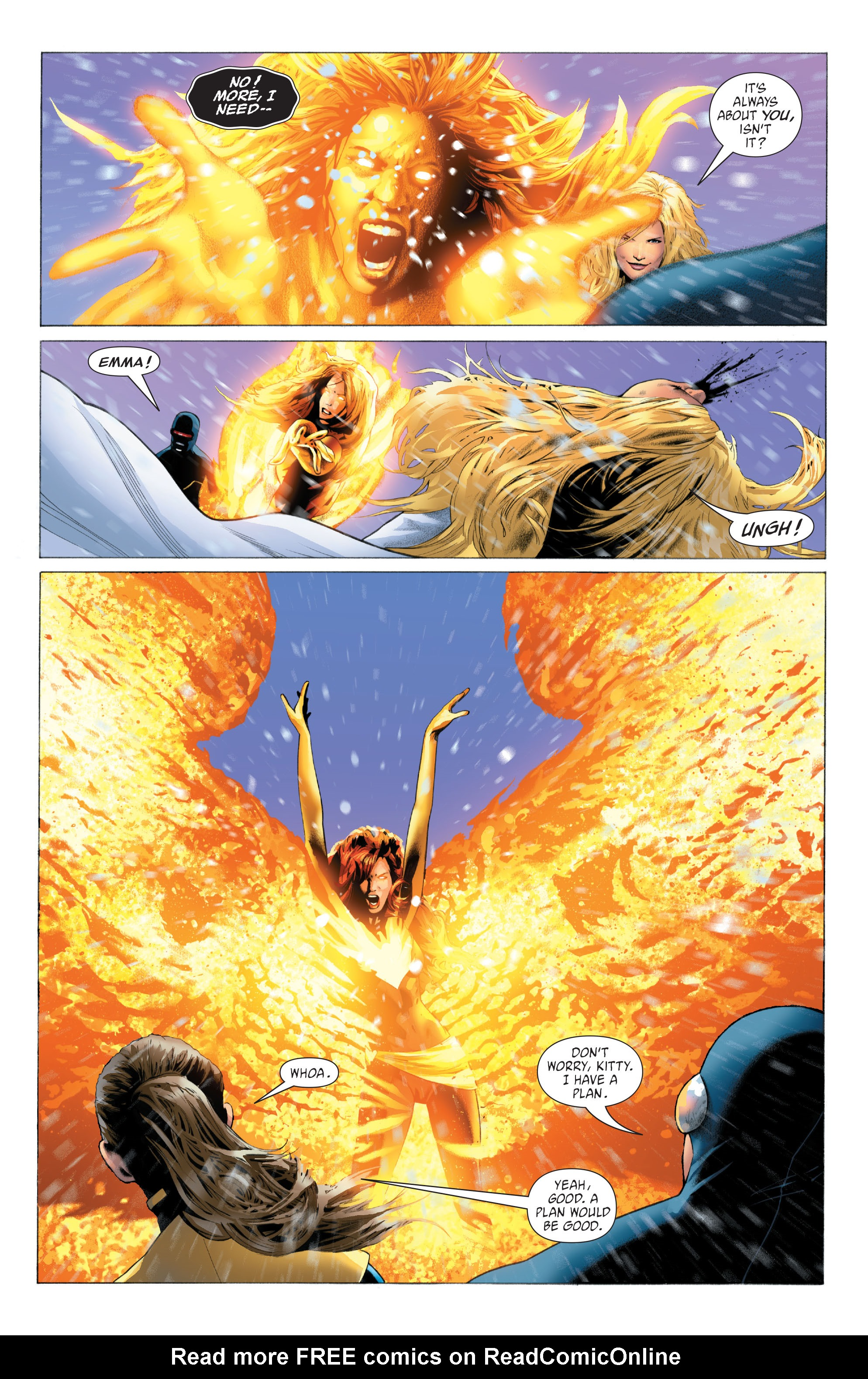 Read online X-Men: Phoenix - Endsong comic -  Issue #4 - 7
