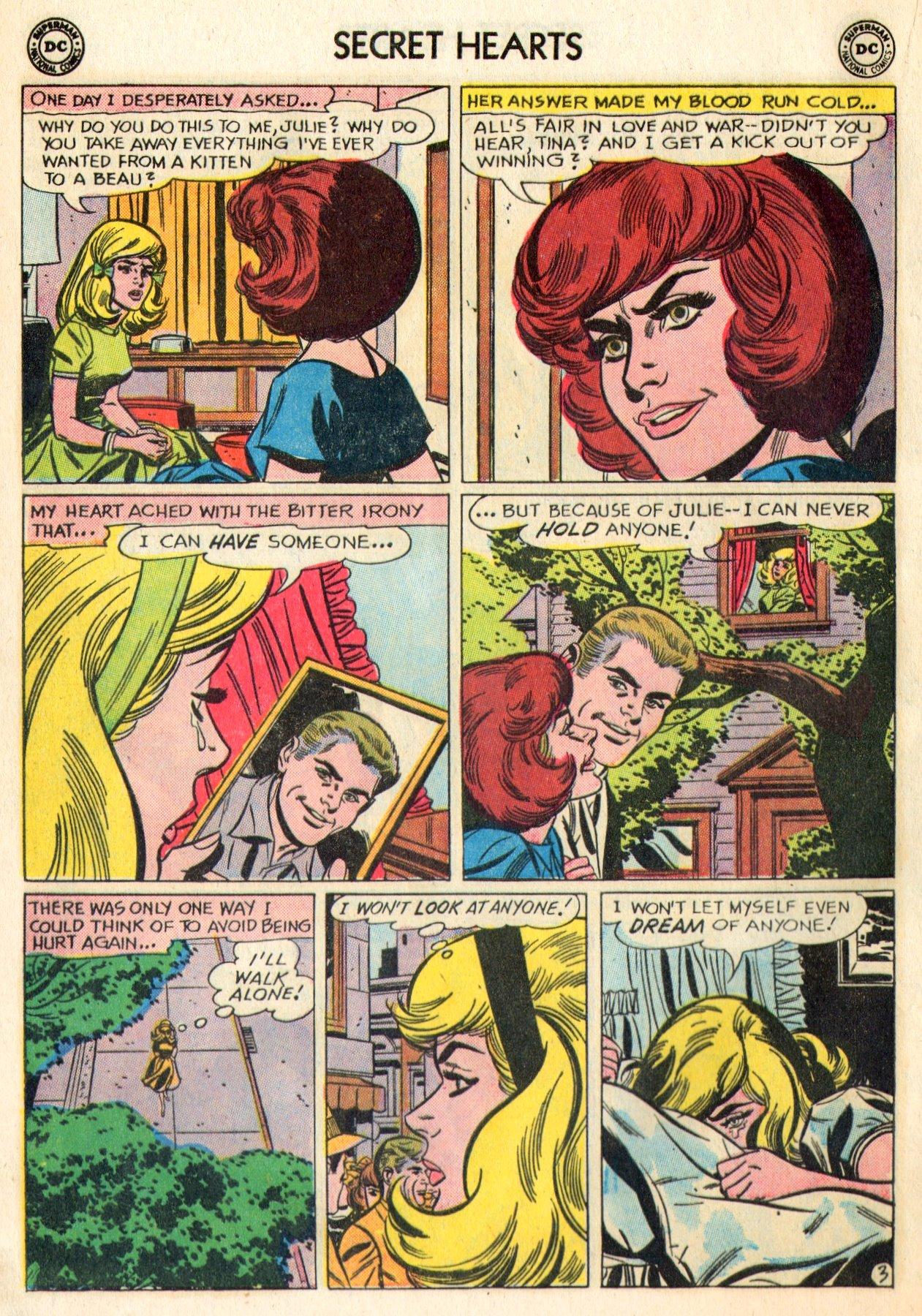 Read online Secret Hearts comic -  Issue #84 - 20