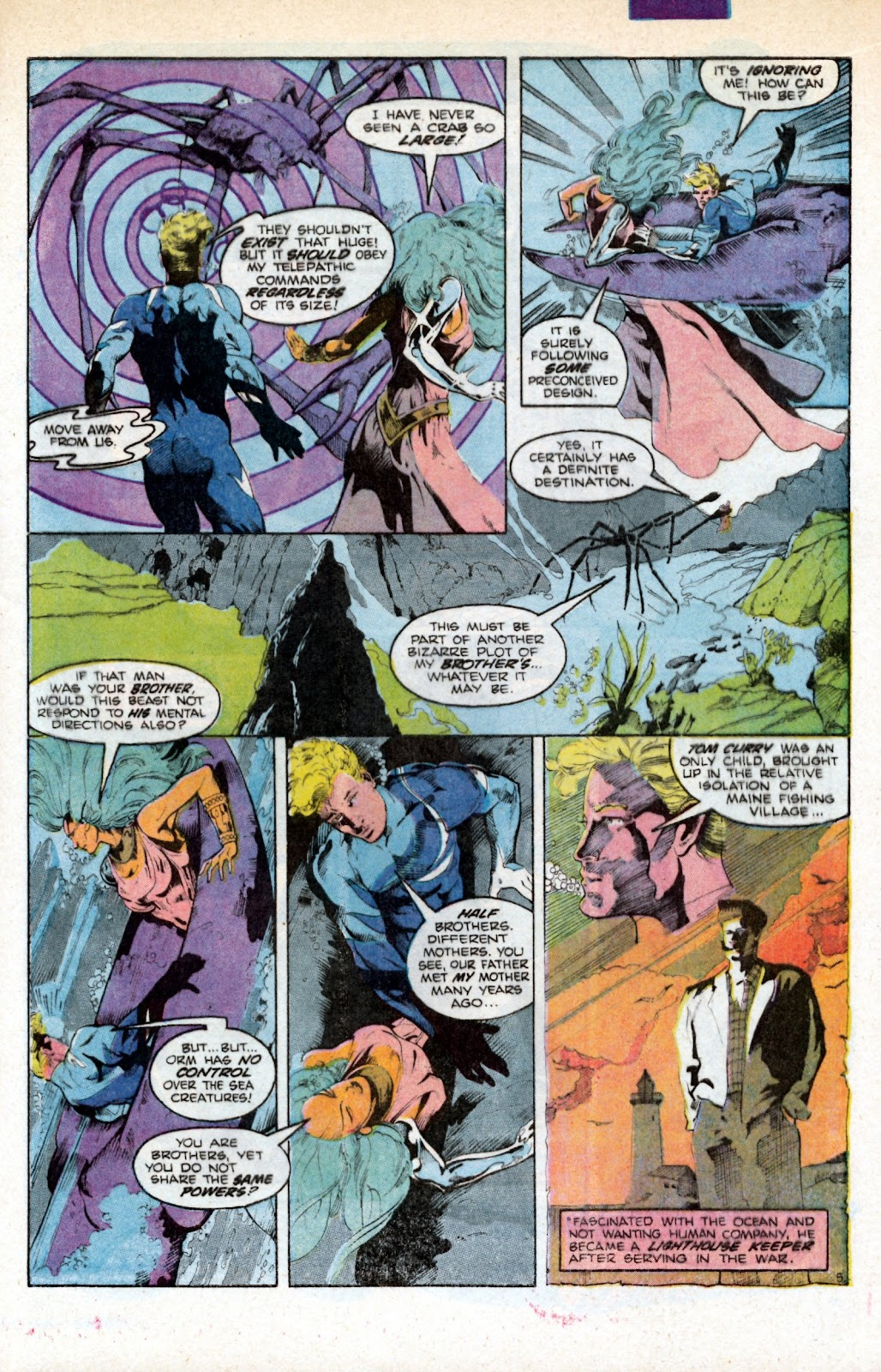 Aquaman (1986) Issue #3 #3 - English 9