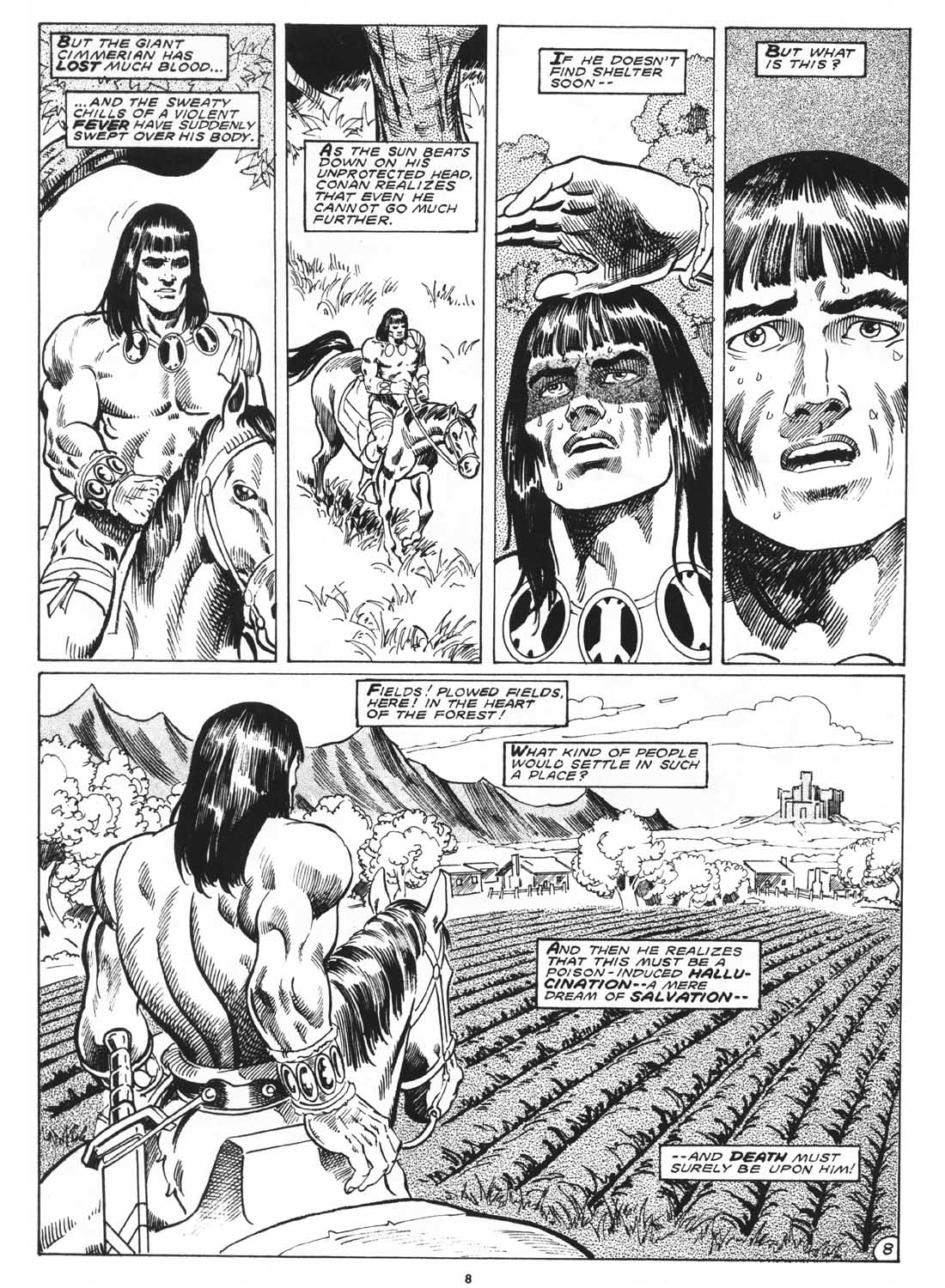 The Savage Sword Of Conan Issue #171 #172 - English 10