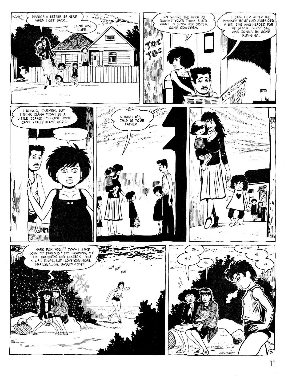 Love and Rockets (1982) Issue #25 #24 - English 15