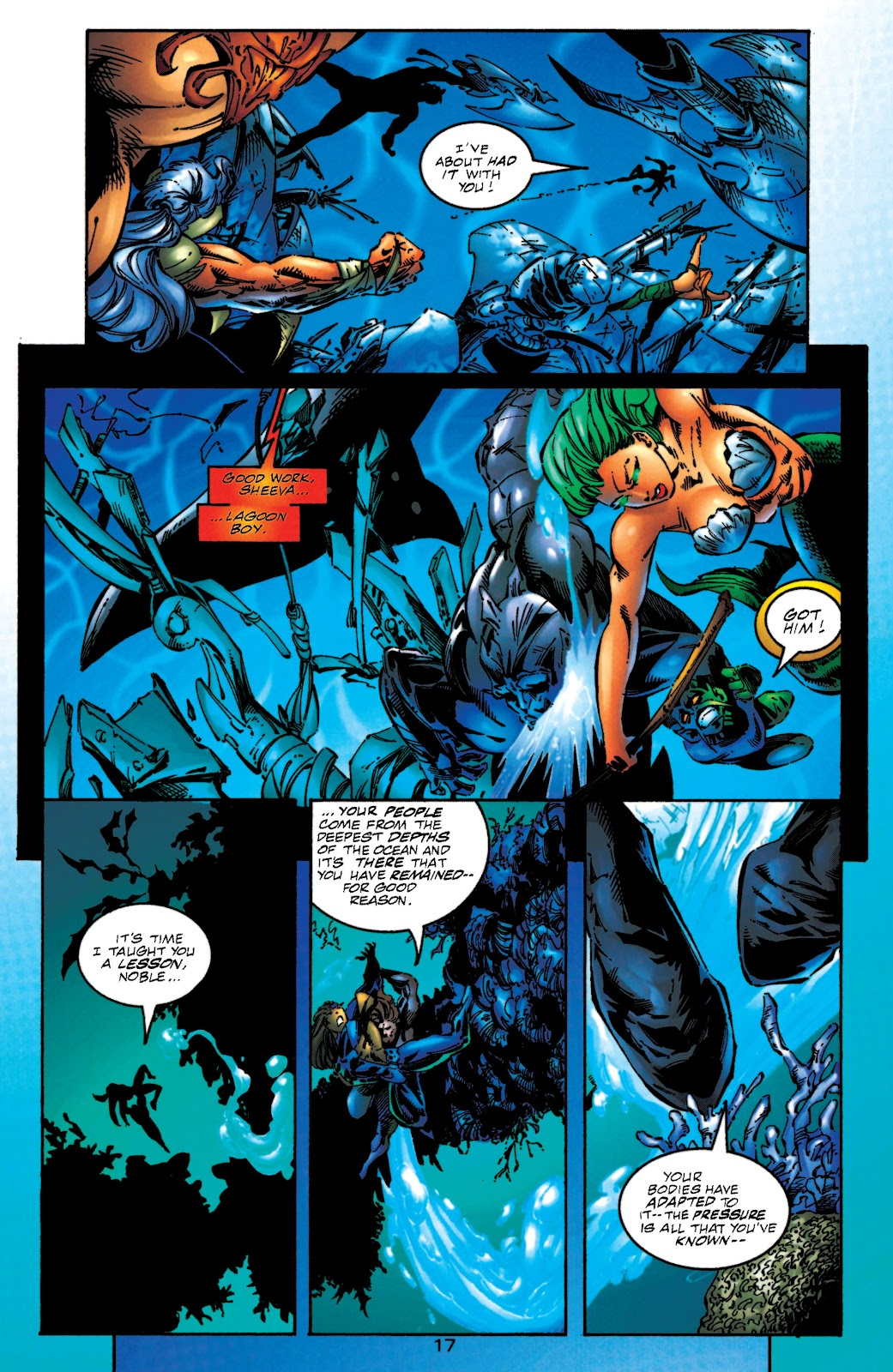 Aquaman (1994) Issue #51 #57 - English 17