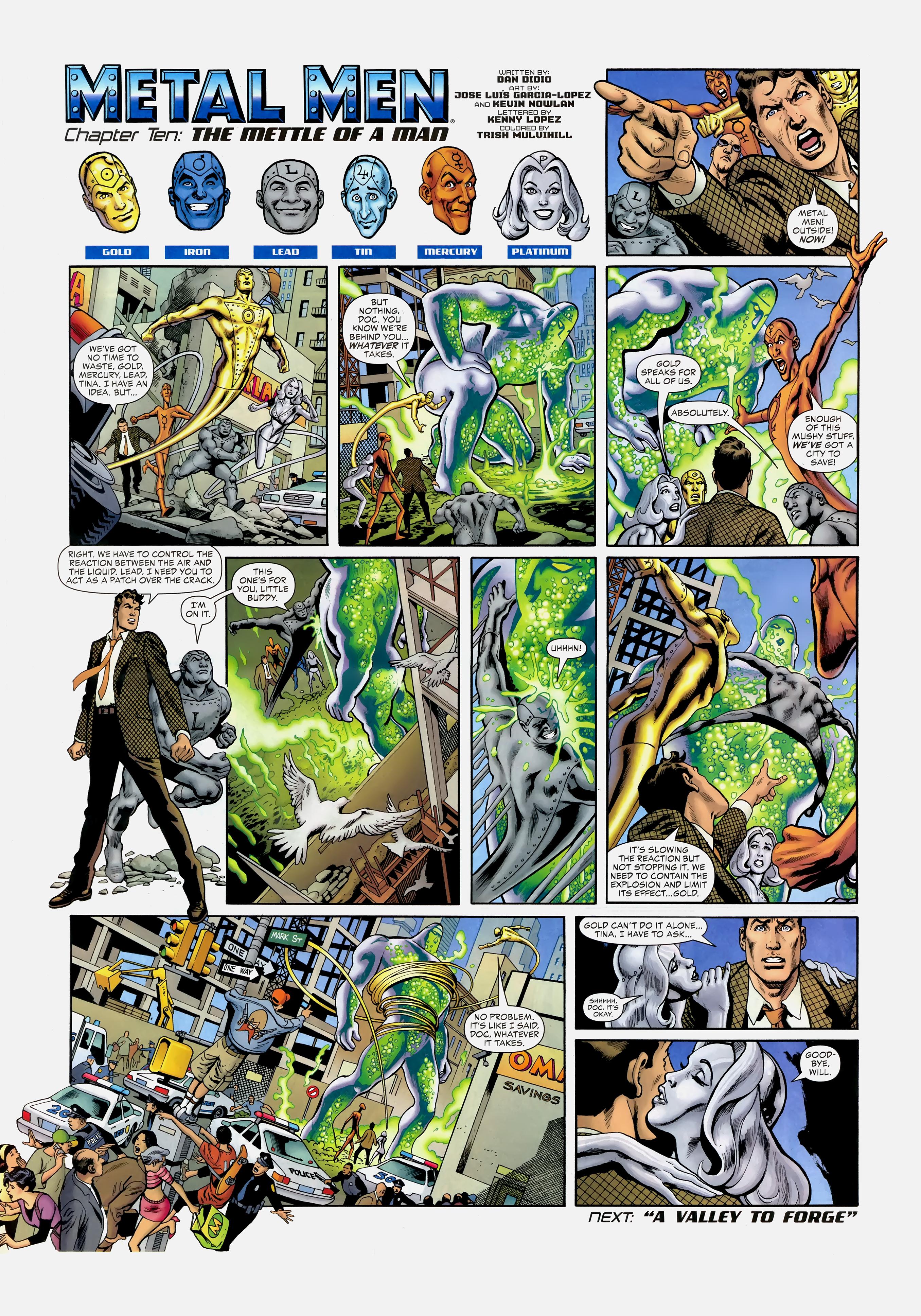 Read online Wednesday Comics comic -  Issue #10 - 11