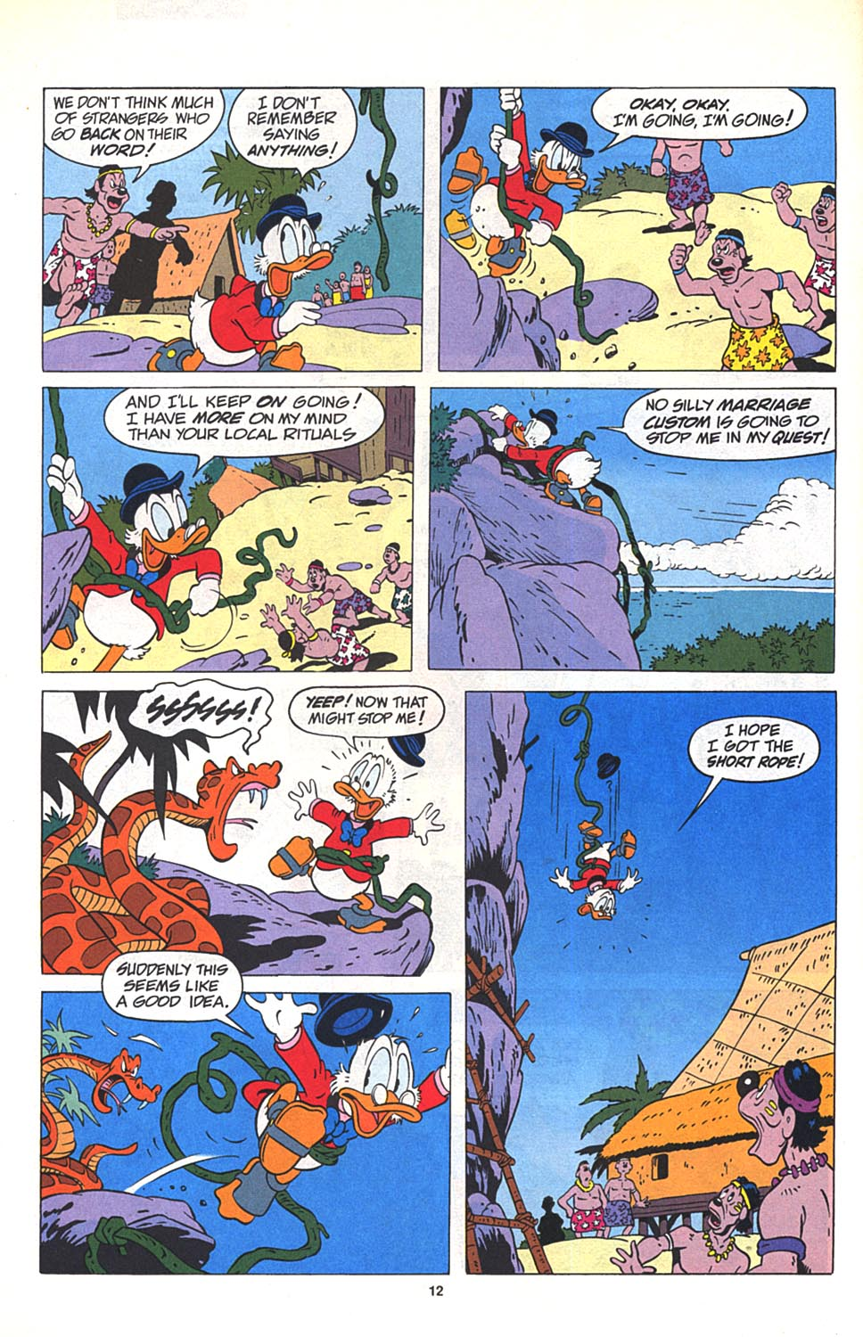 Uncle Scrooge (1953) Issue #269 #269 - English 13