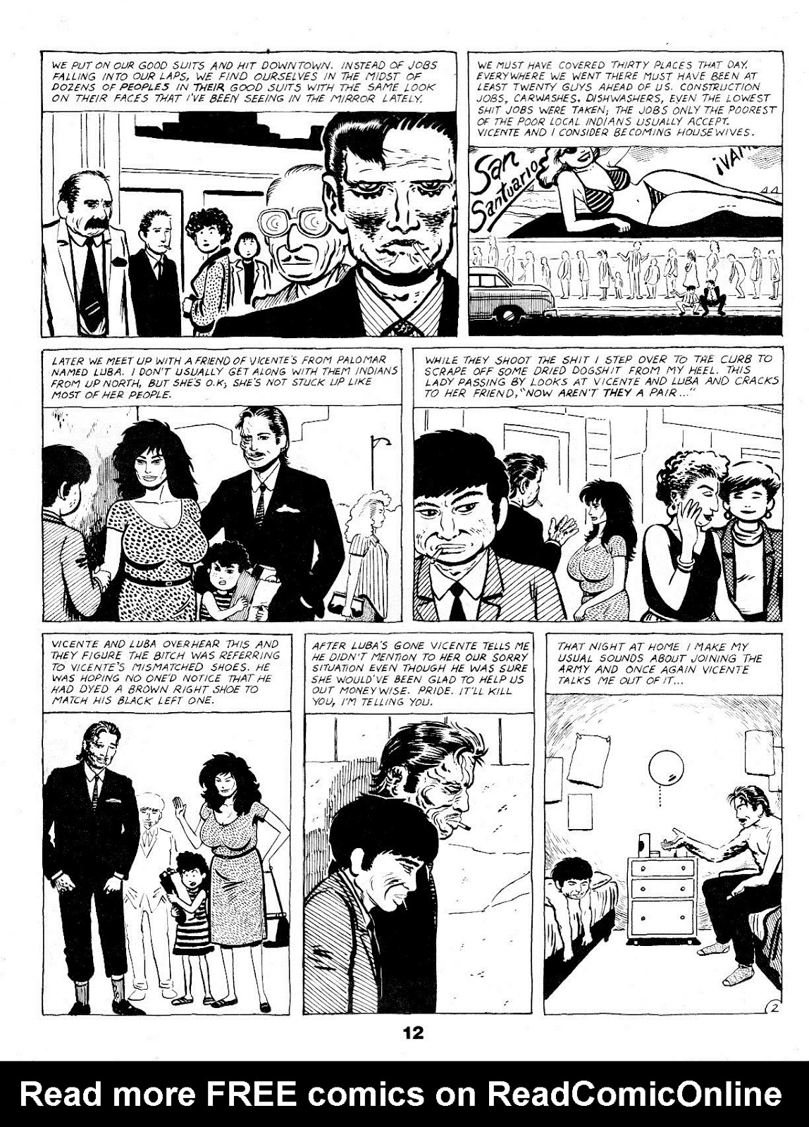 Love and Rockets (1982) Issue #17 #16 - English 14