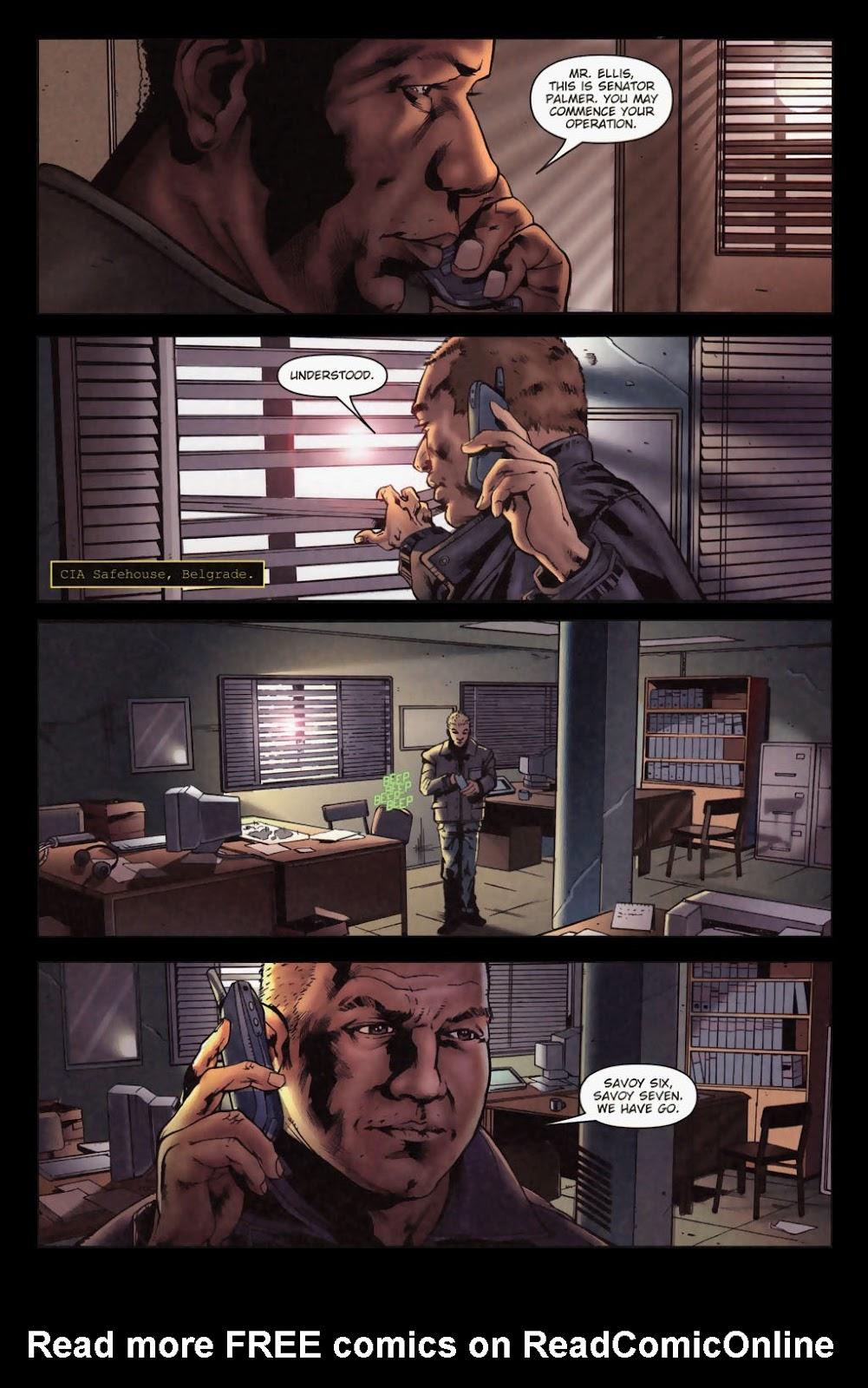 Zombies vs. Robots (2006) Issue #1 Page 29