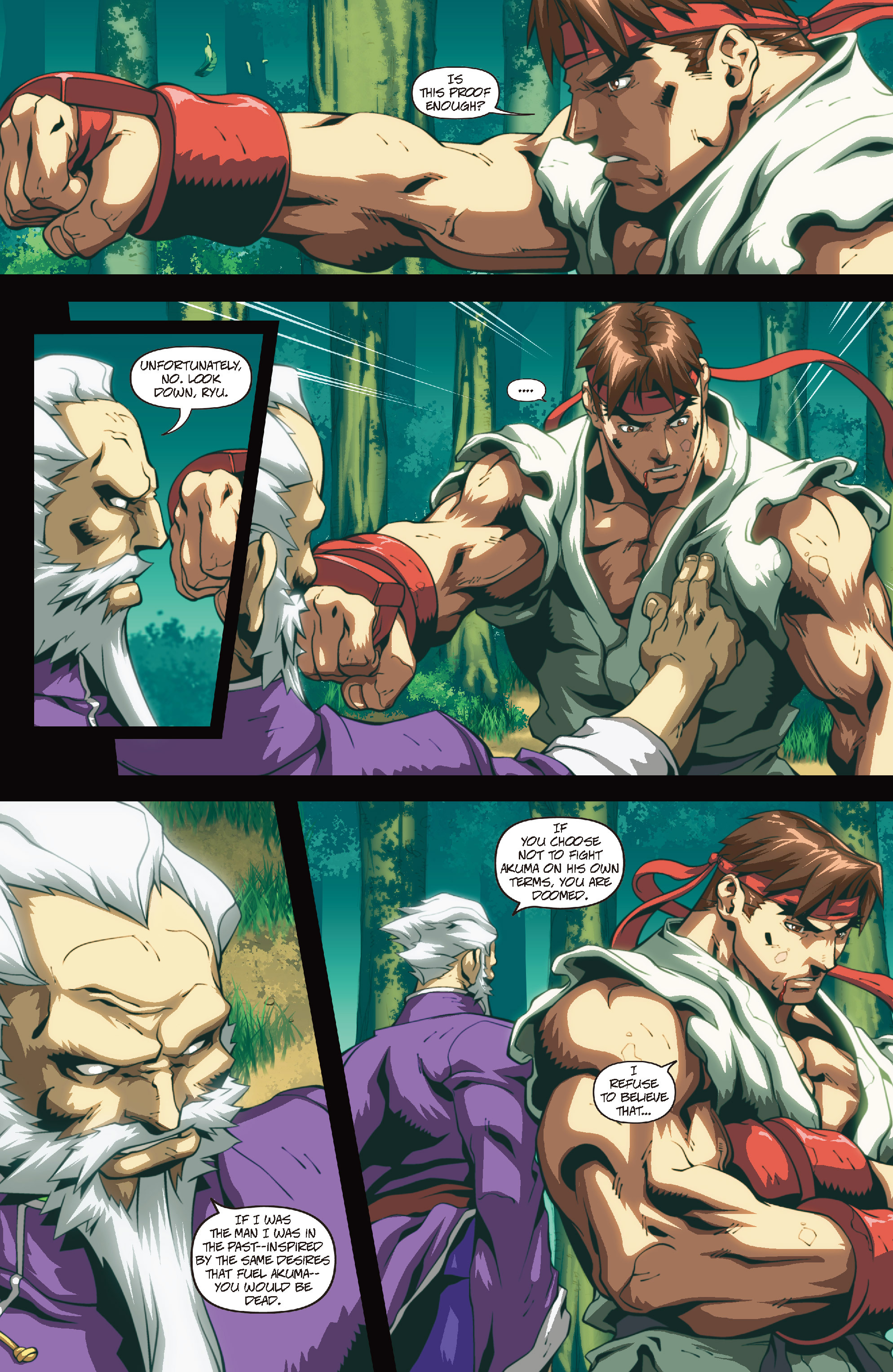 Street Fighter II chap 4 pic 15