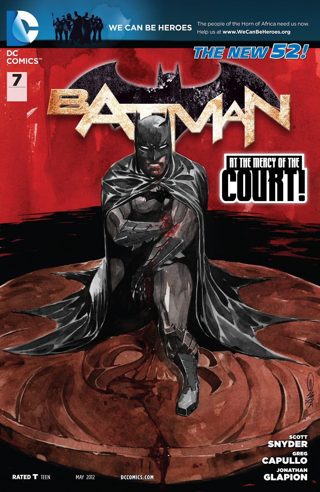 Batman (2011) Issue #7 #22 - English 2