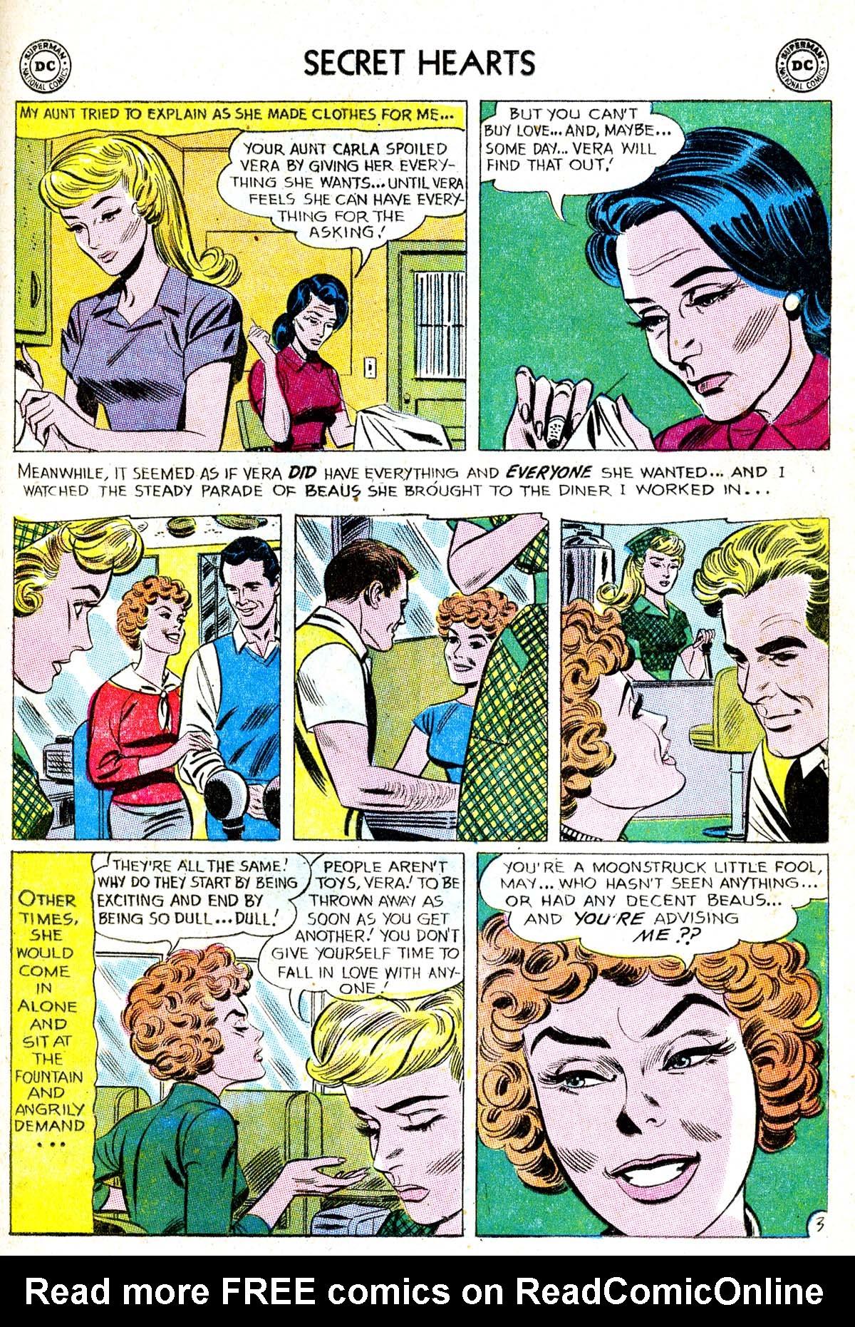 Read online Secret Hearts comic -  Issue #85 - 29