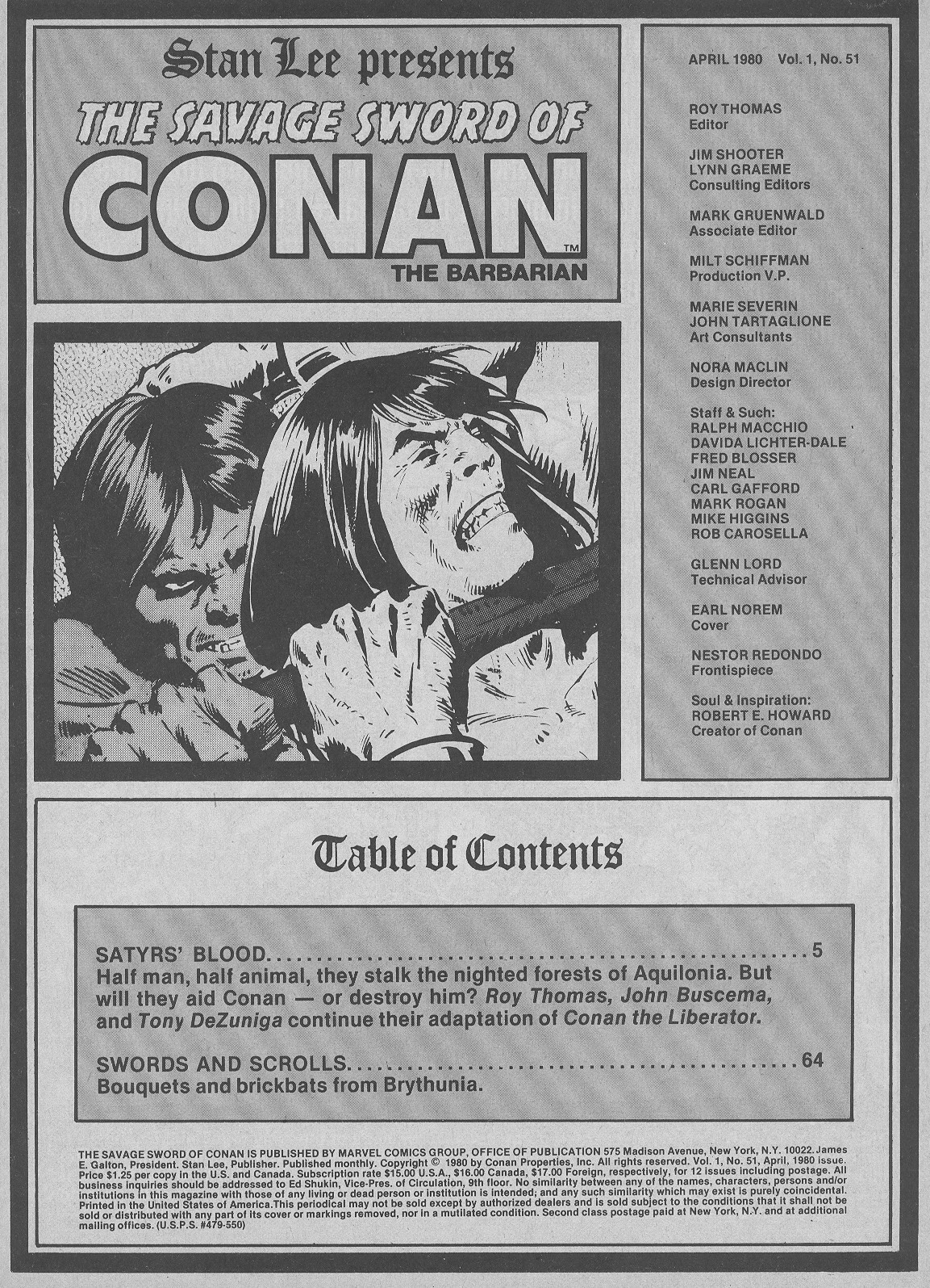 The Savage Sword Of Conan Issue #51 #52 - English 3