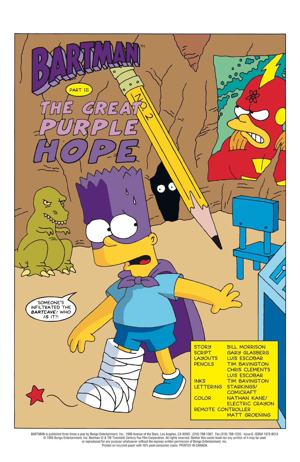 Read online Bartman comic -  Issue #6 - 2