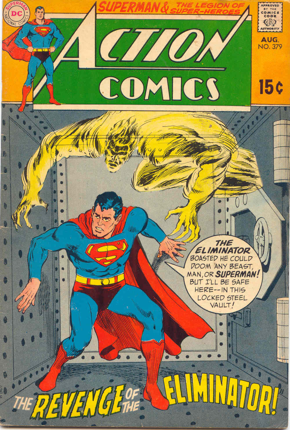 Action Comics (1938) 379 Page 1
