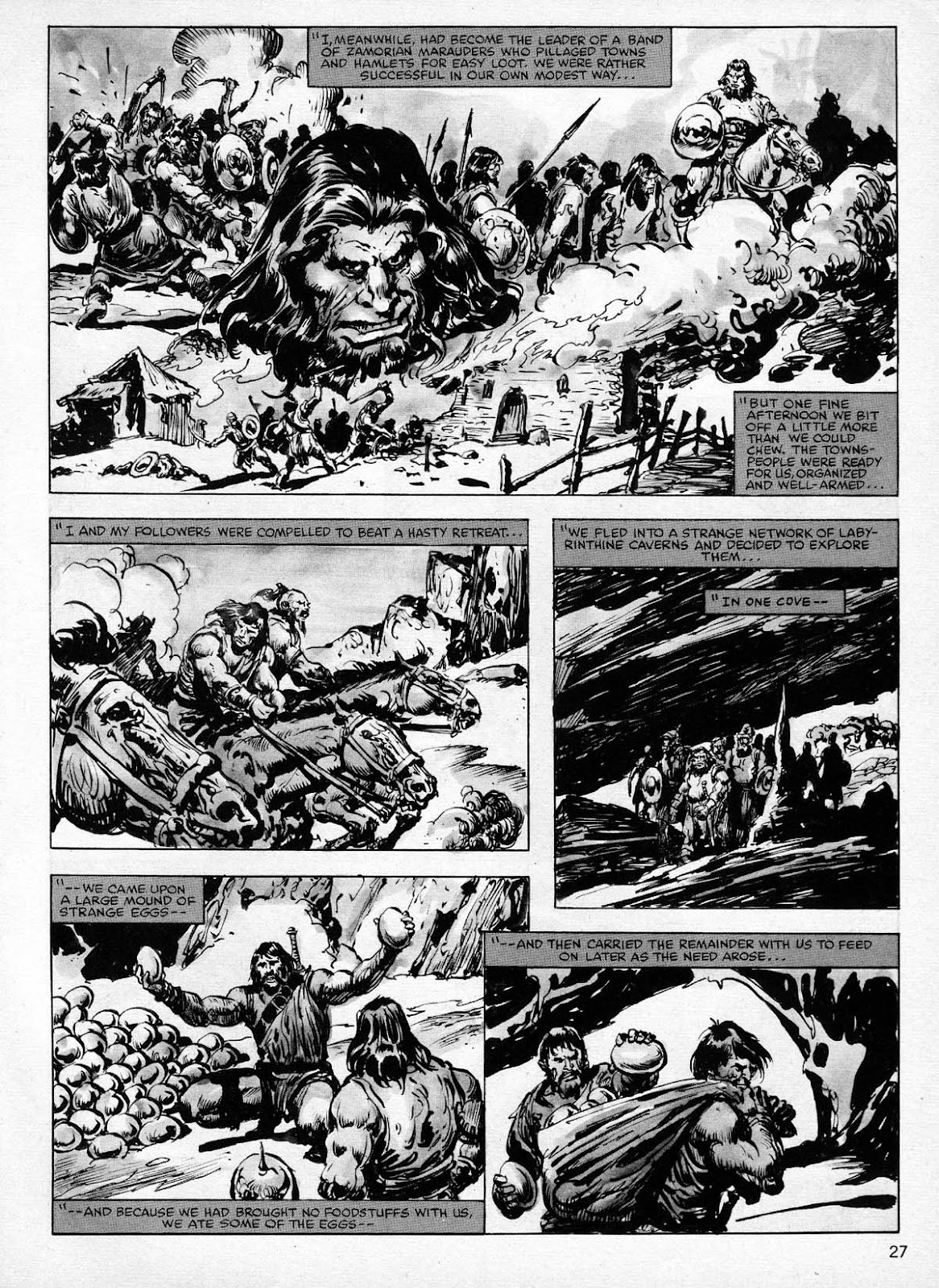 The Savage Sword Of Conan Issue #77 #78 - English 27