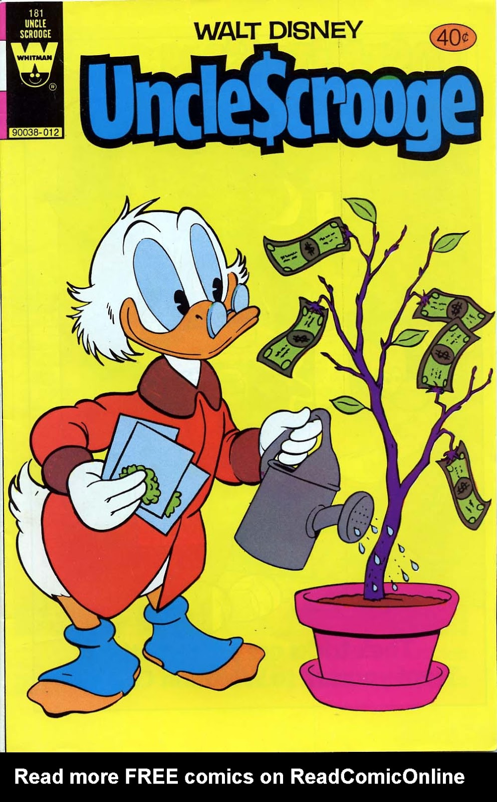 Uncle Scrooge (1953) Issue #181 #181 - English 1