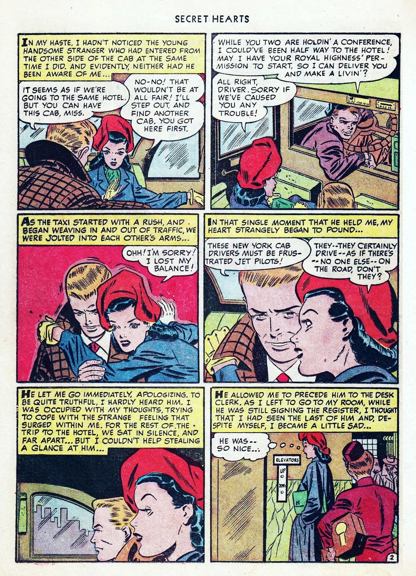 Read online Secret Hearts comic -  Issue #1 - 38
