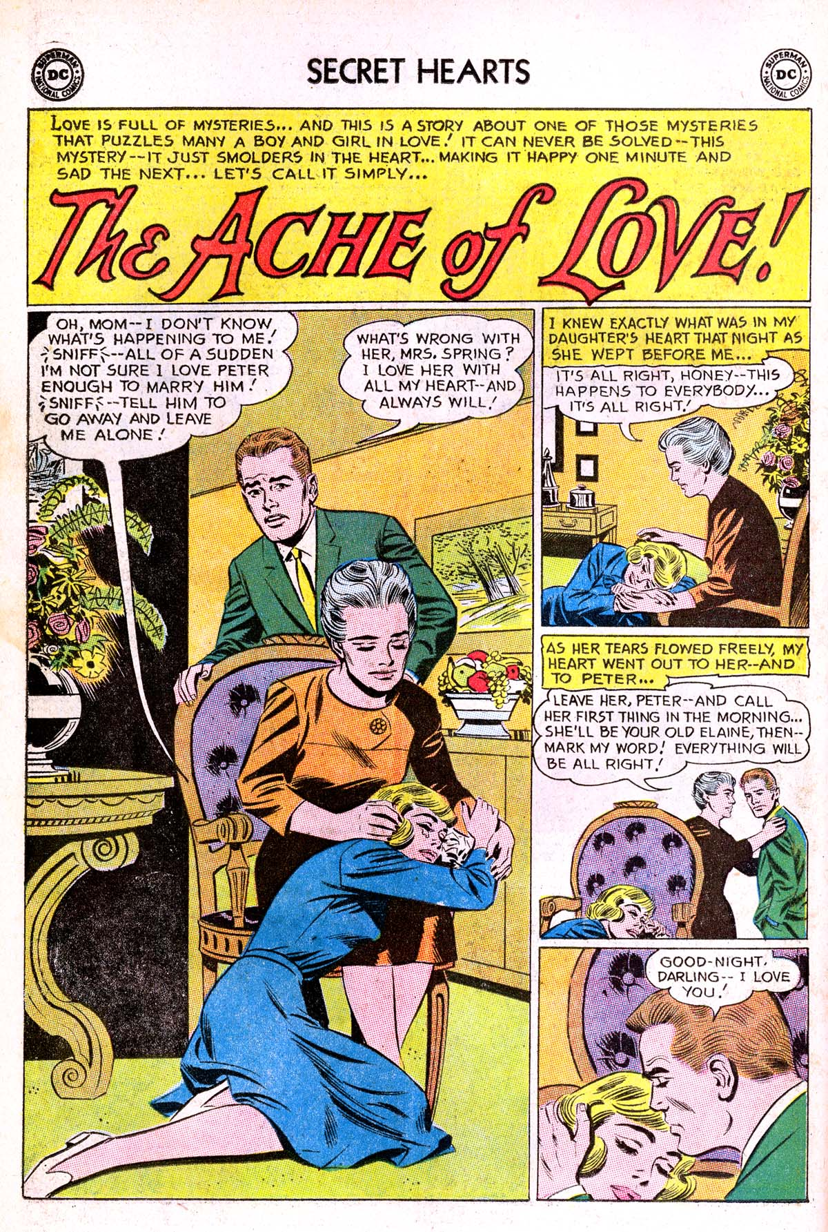 Read online Secret Hearts comic -  Issue #85 - 10