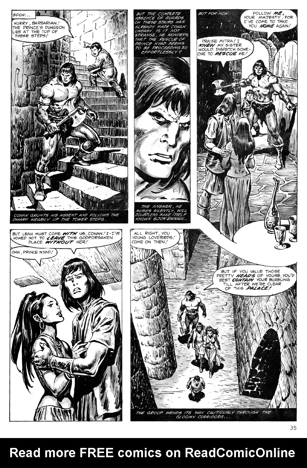 The Savage Sword Of Conan Issue #71 #72 - English 35