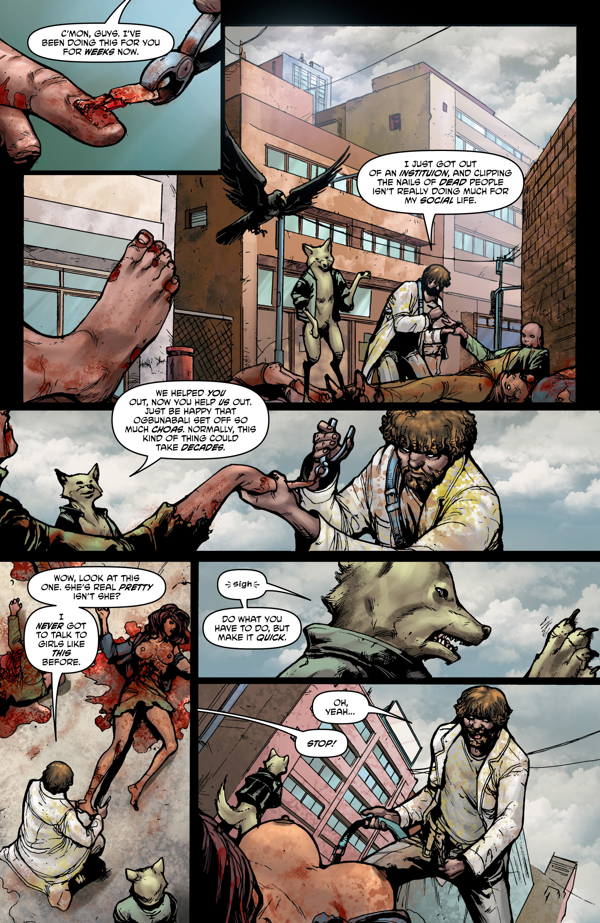 Read online God Is Dead comic -  Issue #44 - 3