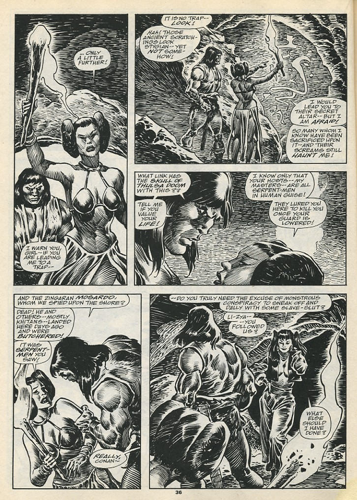 The Savage Sword Of Conan Issue #192 #193 - English 38