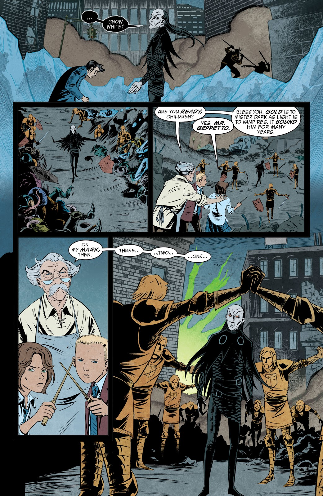 The Unwritten Issue #54 #60 - English 9
