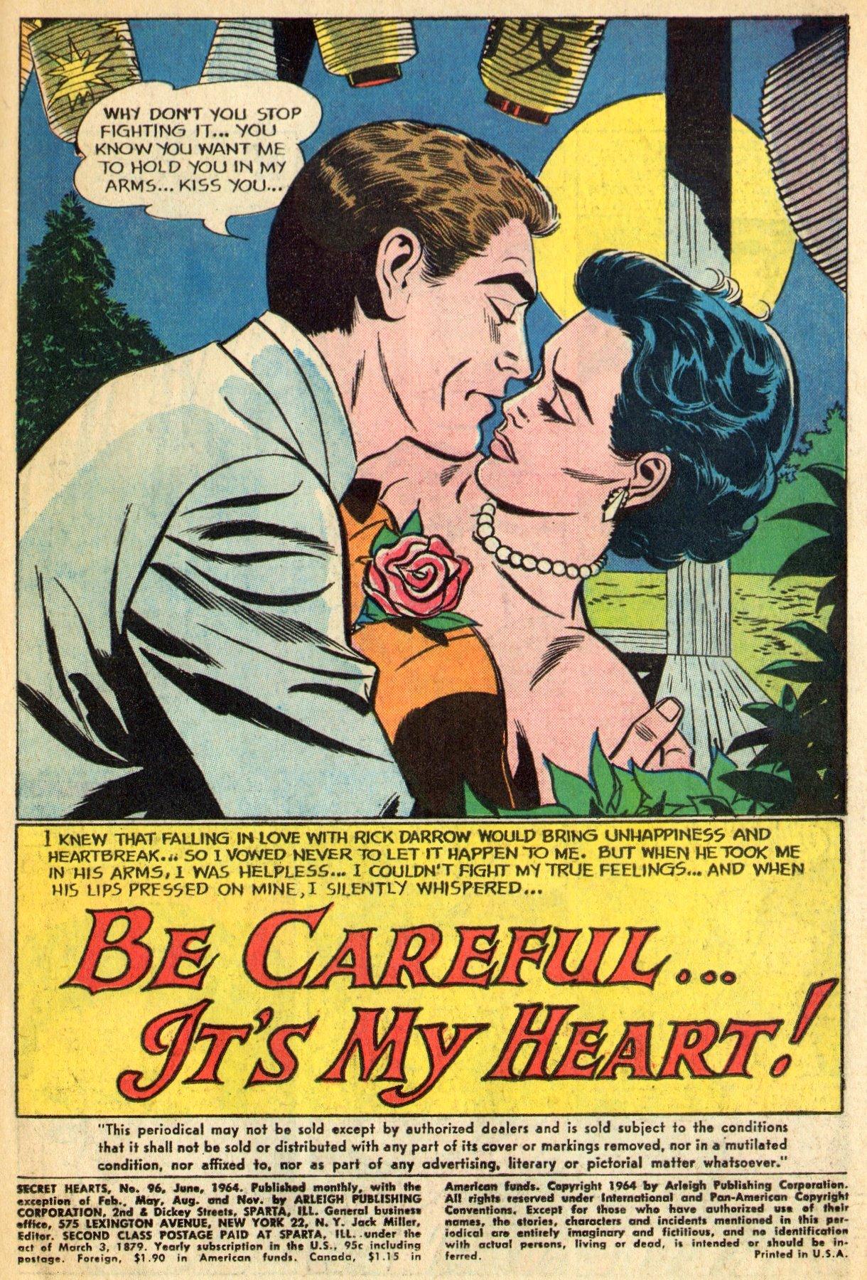 Read online Secret Hearts comic -  Issue #96 - 3