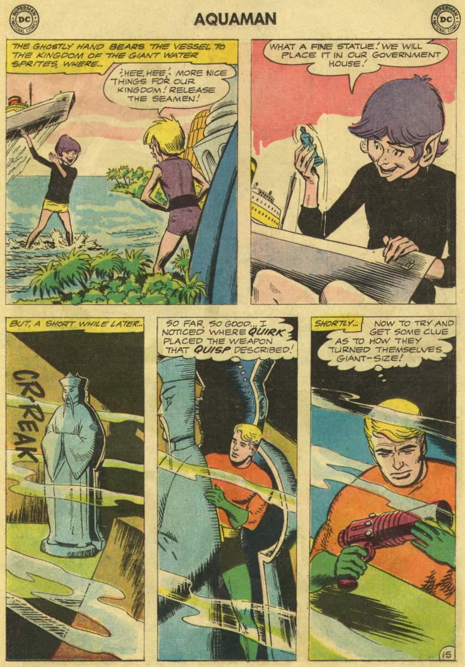 Aquaman (1962) Issue #10 #10 - English 19