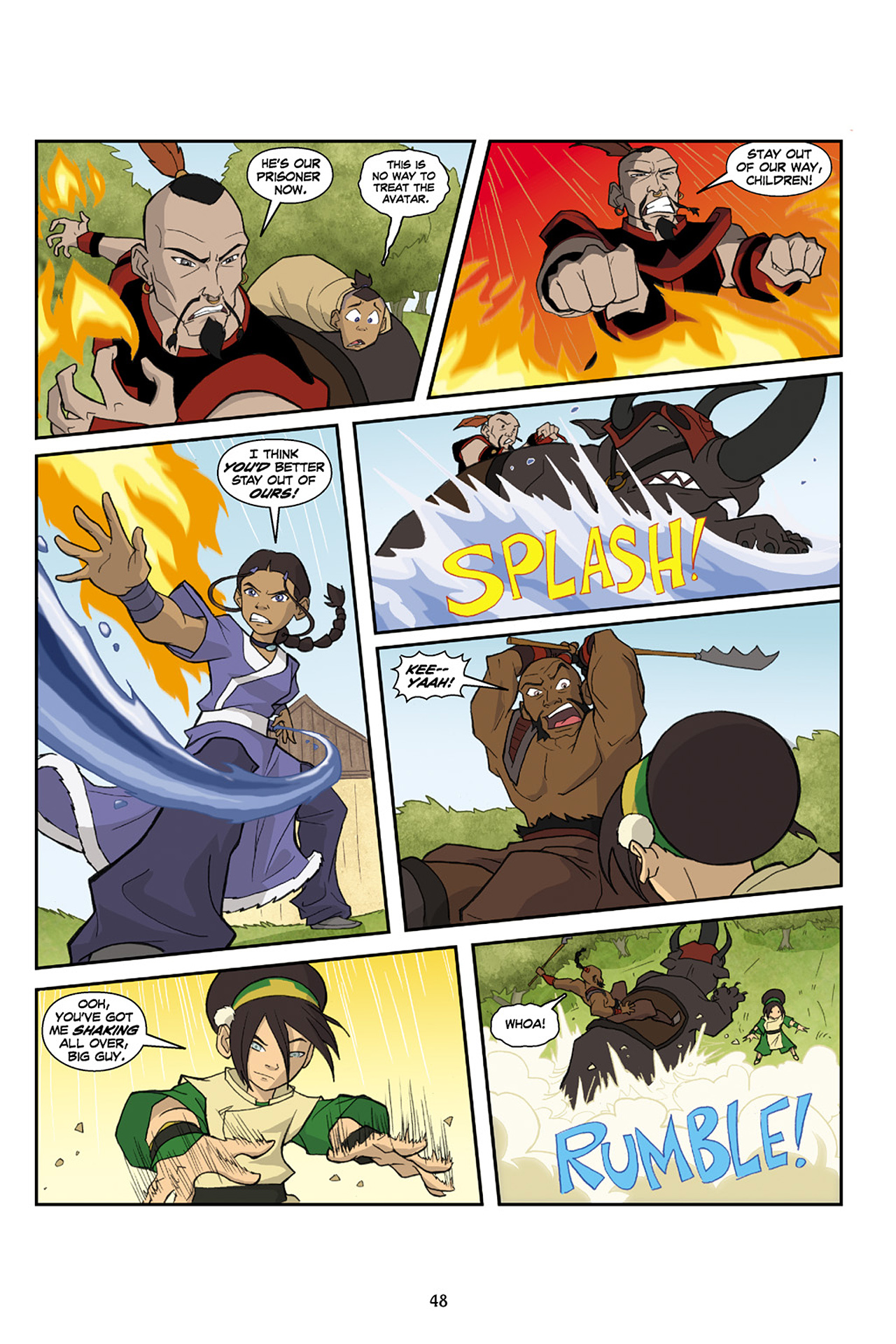 Nickelodeon Avatar: The Last Airbender - The Lost Adventures chap full pic 49