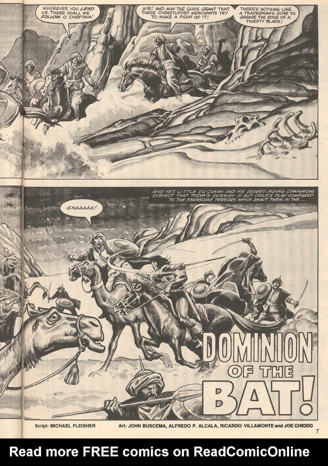 The Savage Sword Of Conan Issue #76 #77 - English 7