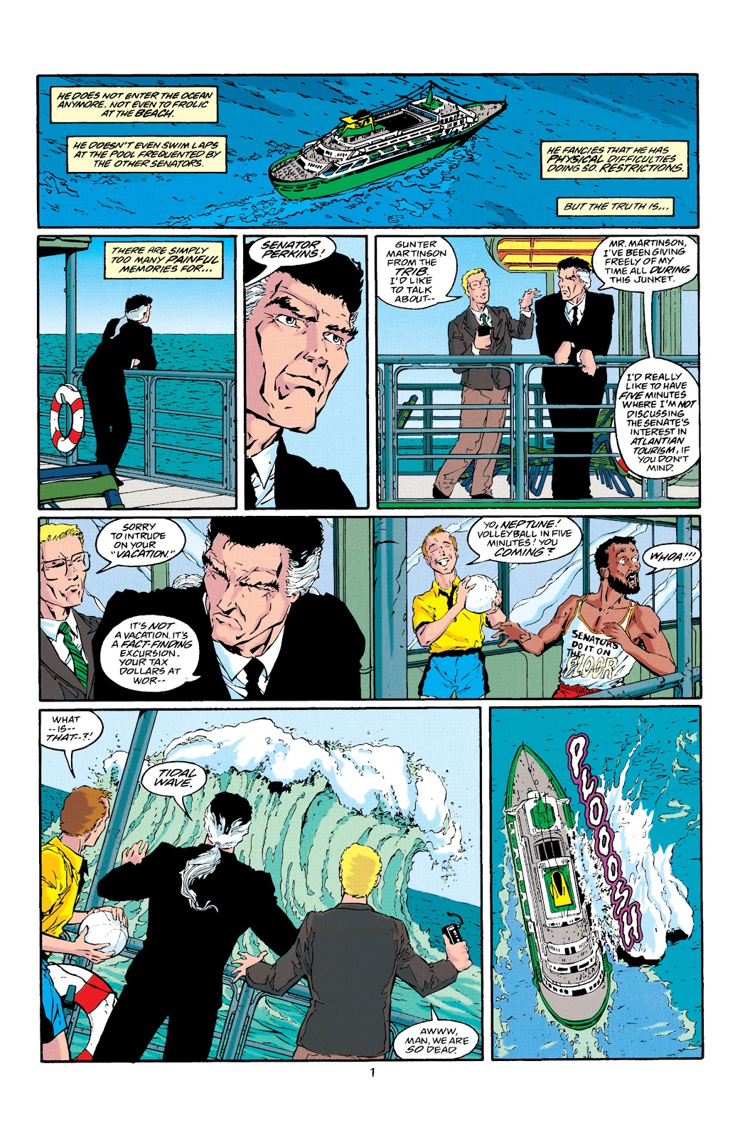 Aquaman (1994) Issue #39 #45 - English 2