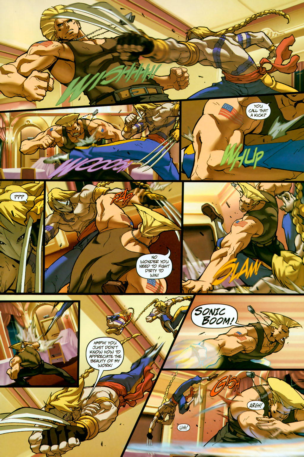 Street Fighter (2003) Issue #14 #15 - English 11