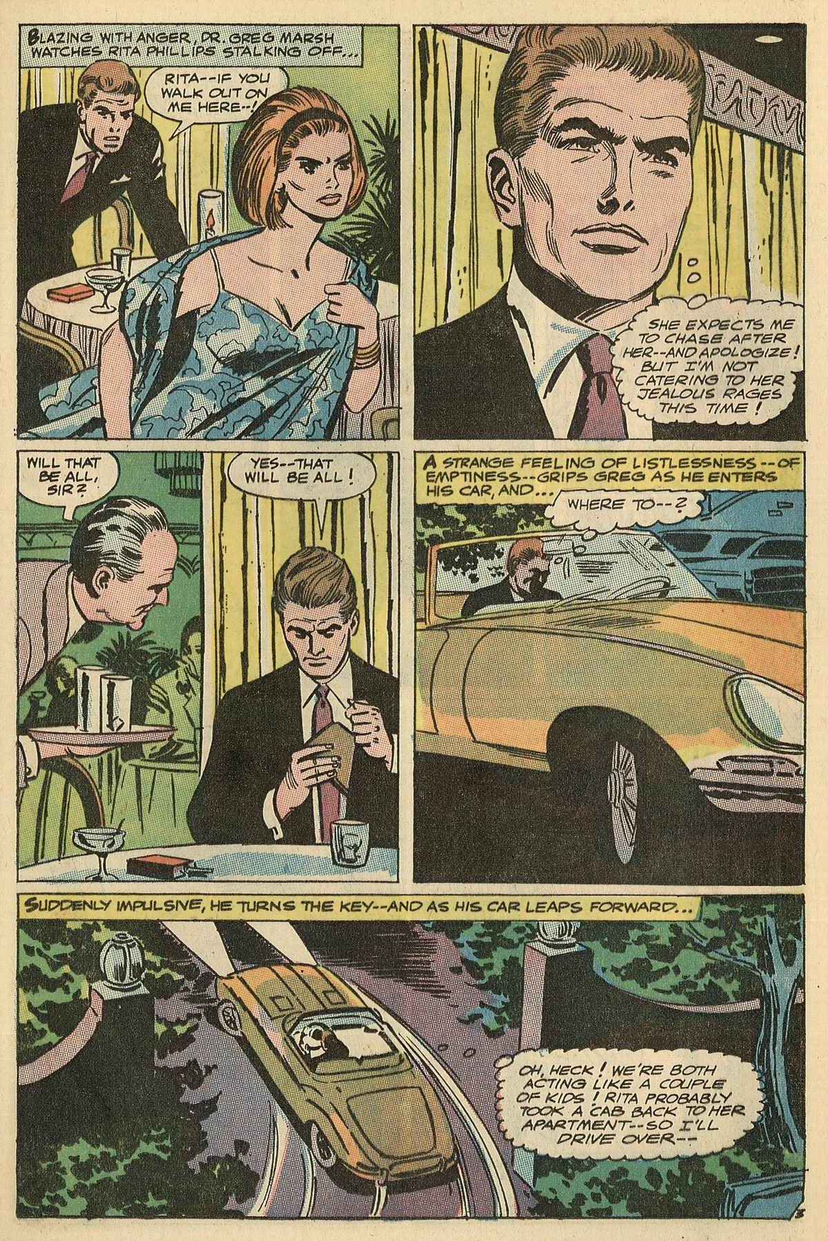 Read online Secret Hearts comic -  Issue #125 - 21