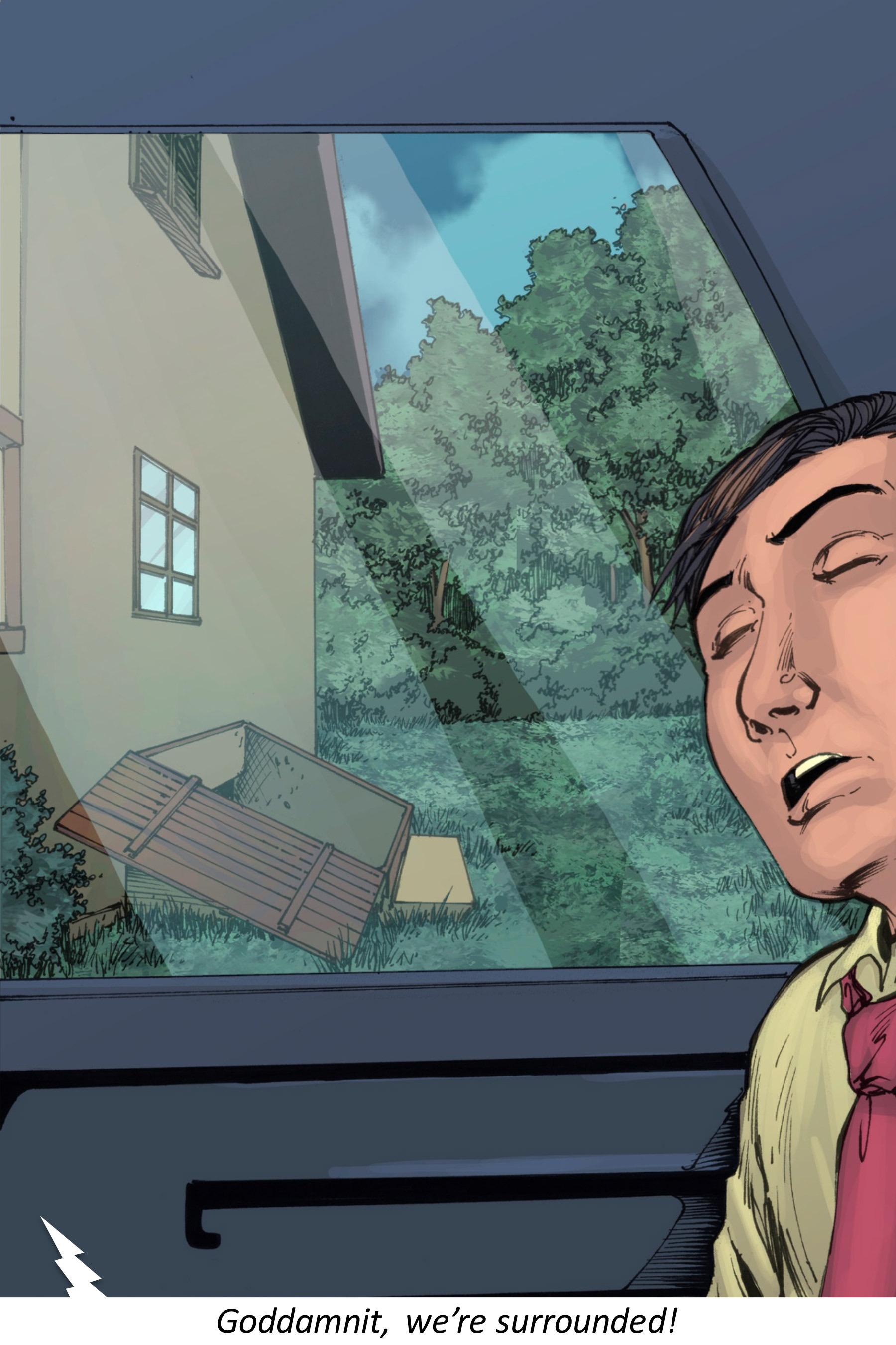 Read online Z-Men comic -  Issue #3 - 91