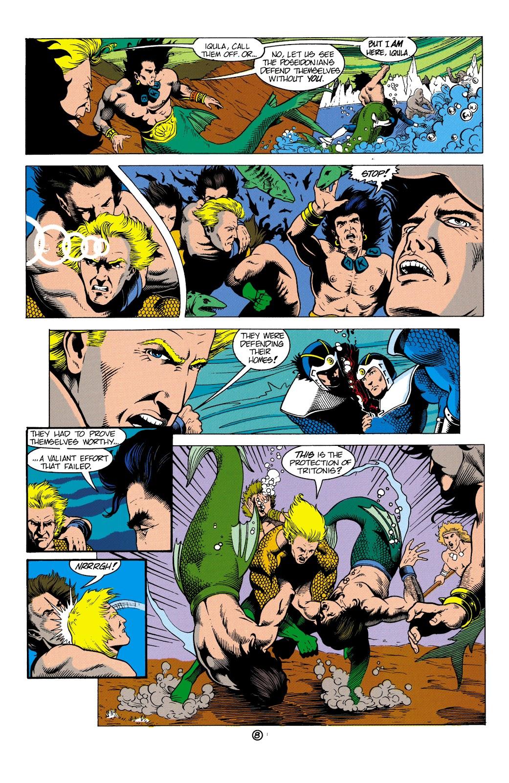 Aquaman (1991) Issue #4 #4 - English 9