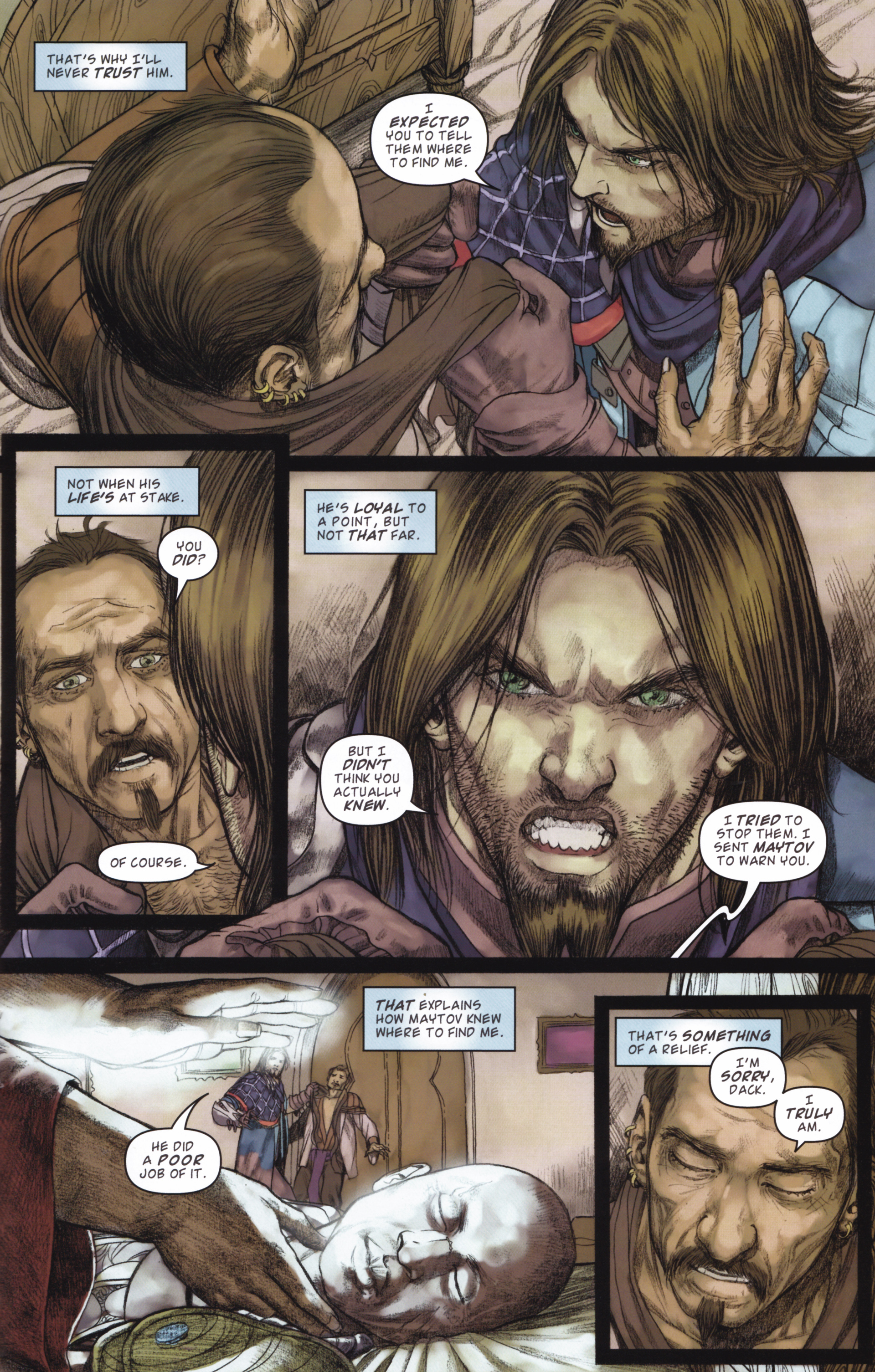 Read online Magic: The Gathering--Path of Vengeance comic -  Issue #2 - 19