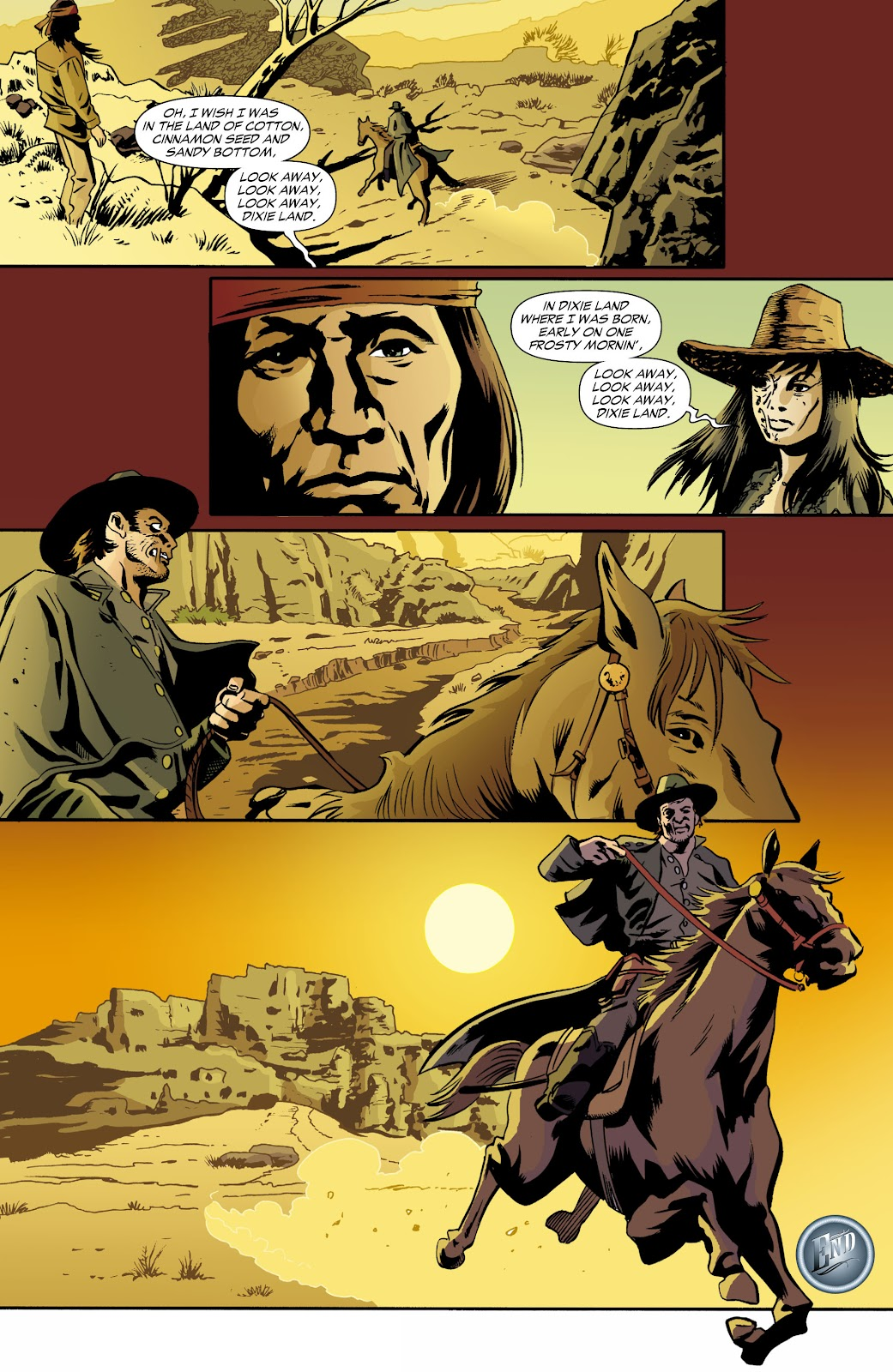 Jonah Hex (2006) Issue #70 #70 - English 21