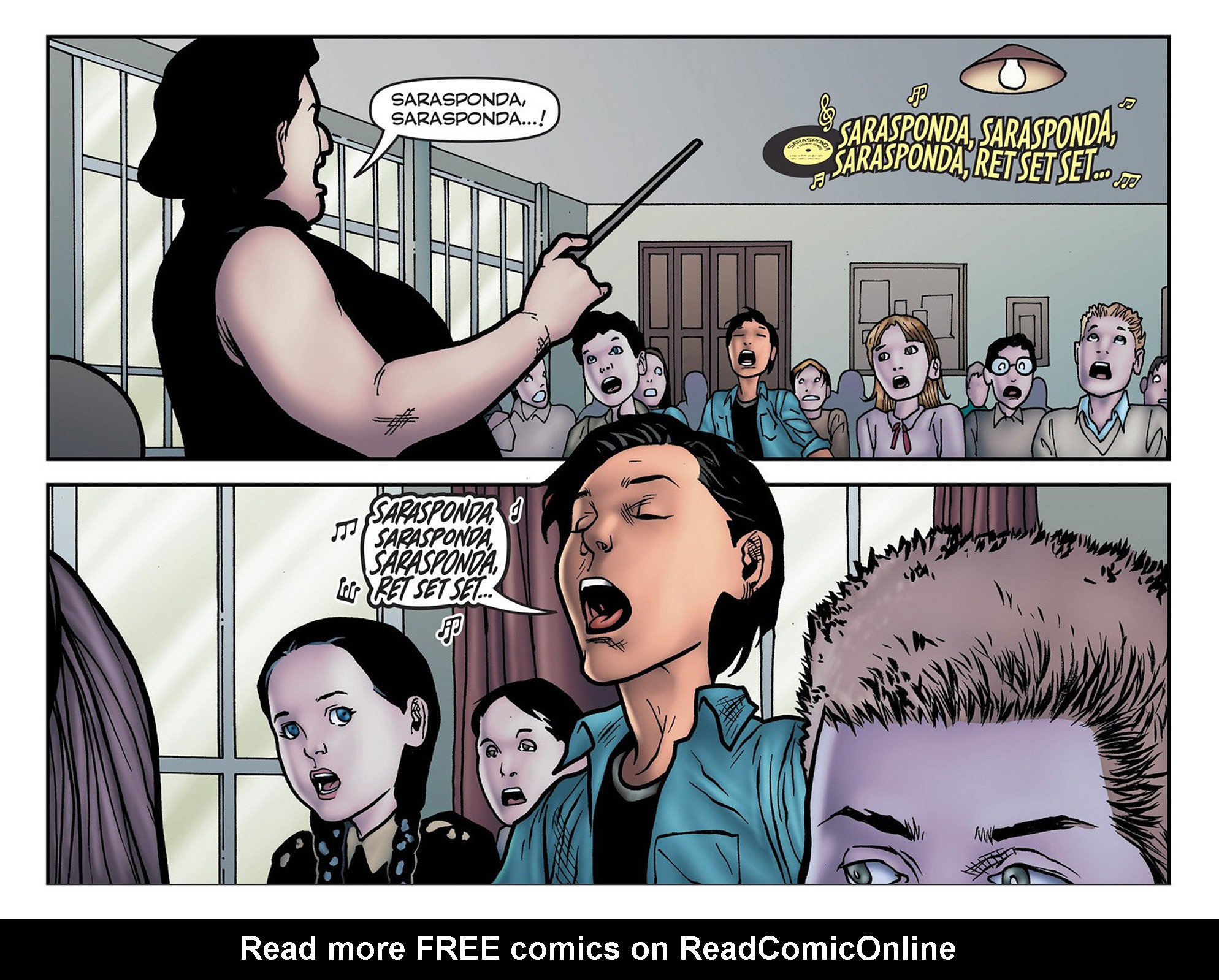 Read online Evil Dead 2: Cradle of the Damned comic -  Issue #6 - 8