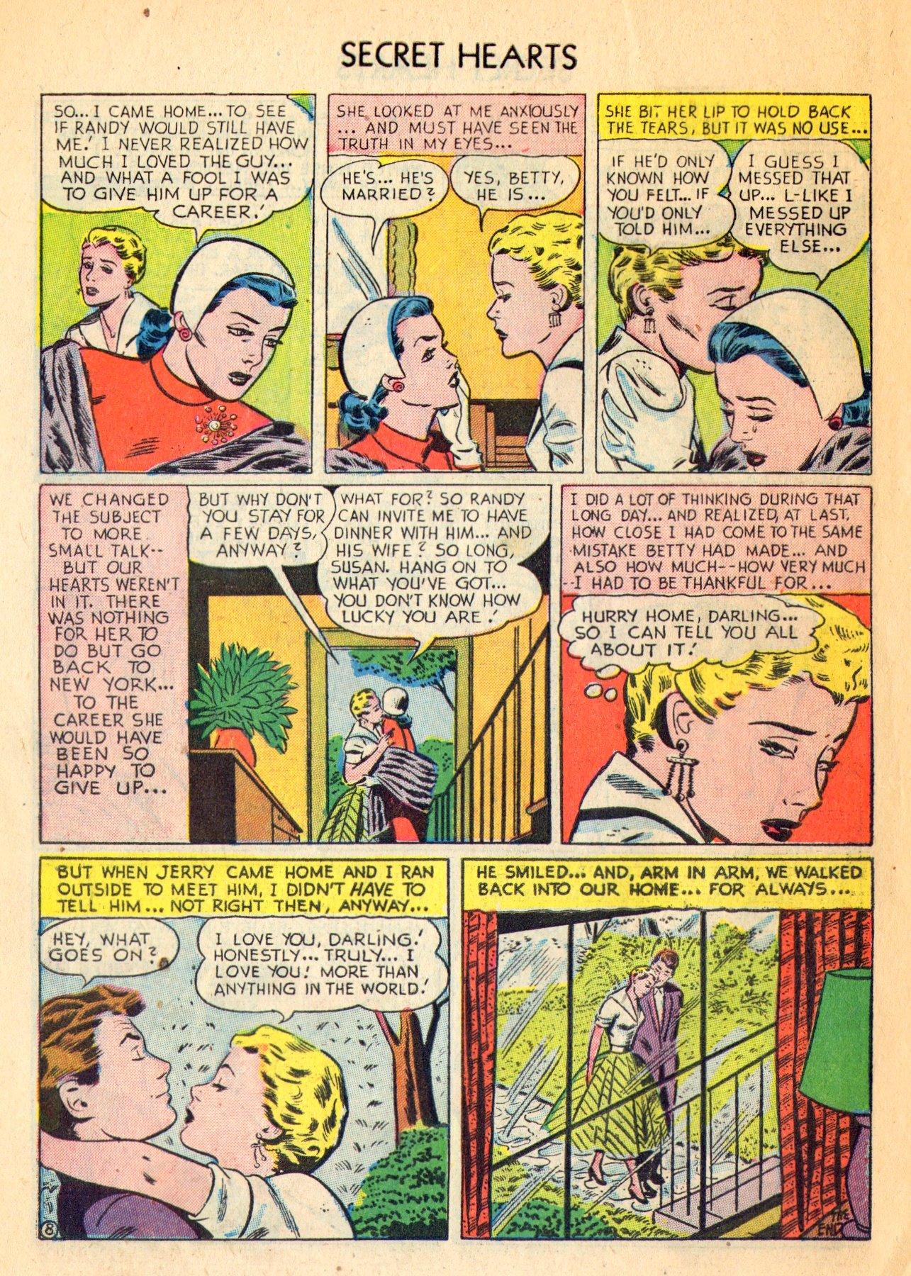 Read online Secret Hearts comic -  Issue #18 - 10
