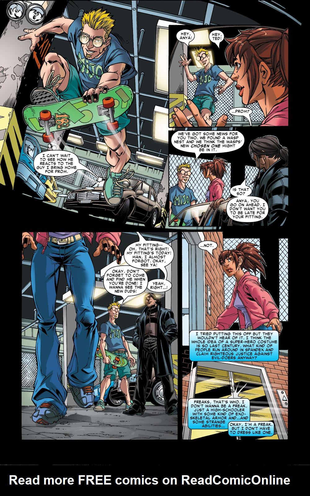 Read online Amazing Fantasy (2004) comic -  Issue #6 - 6