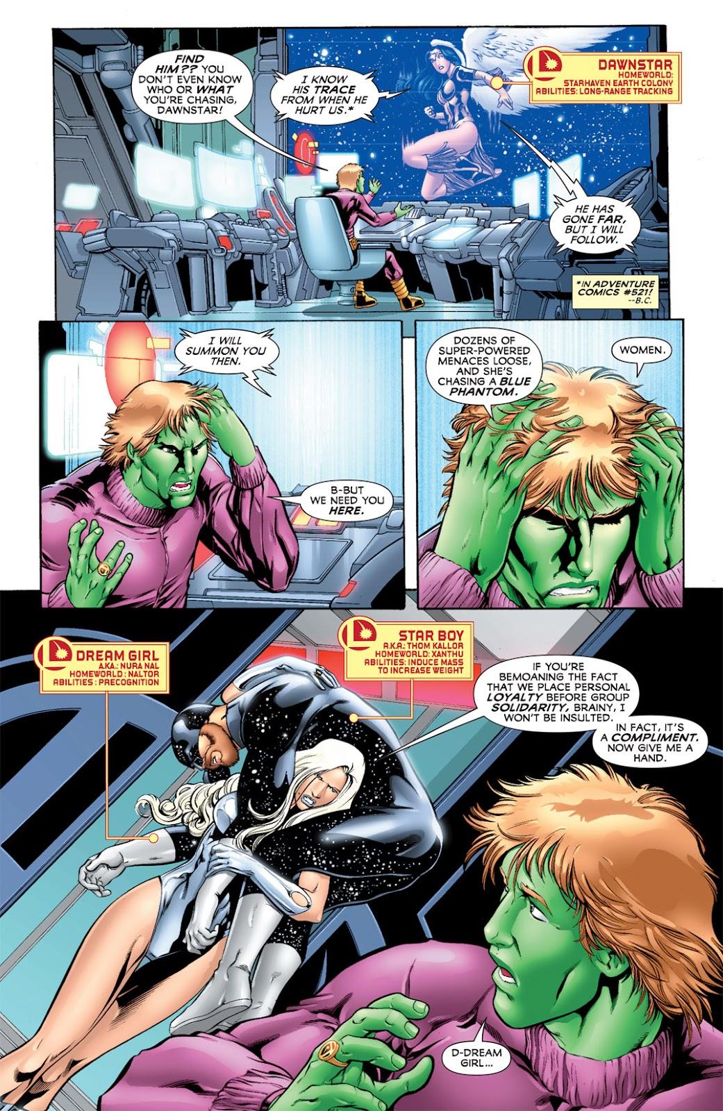 Legion of Super-Heroes (2010) Issue #11 #12 - English 10