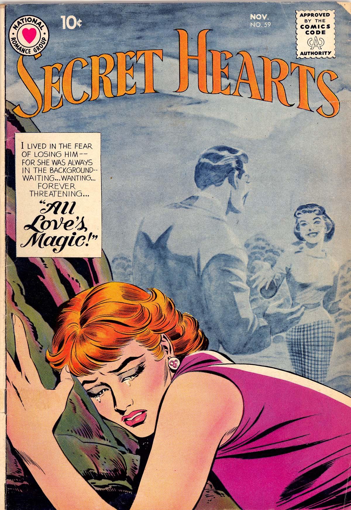 Read online Secret Hearts comic -  Issue #59 - 1