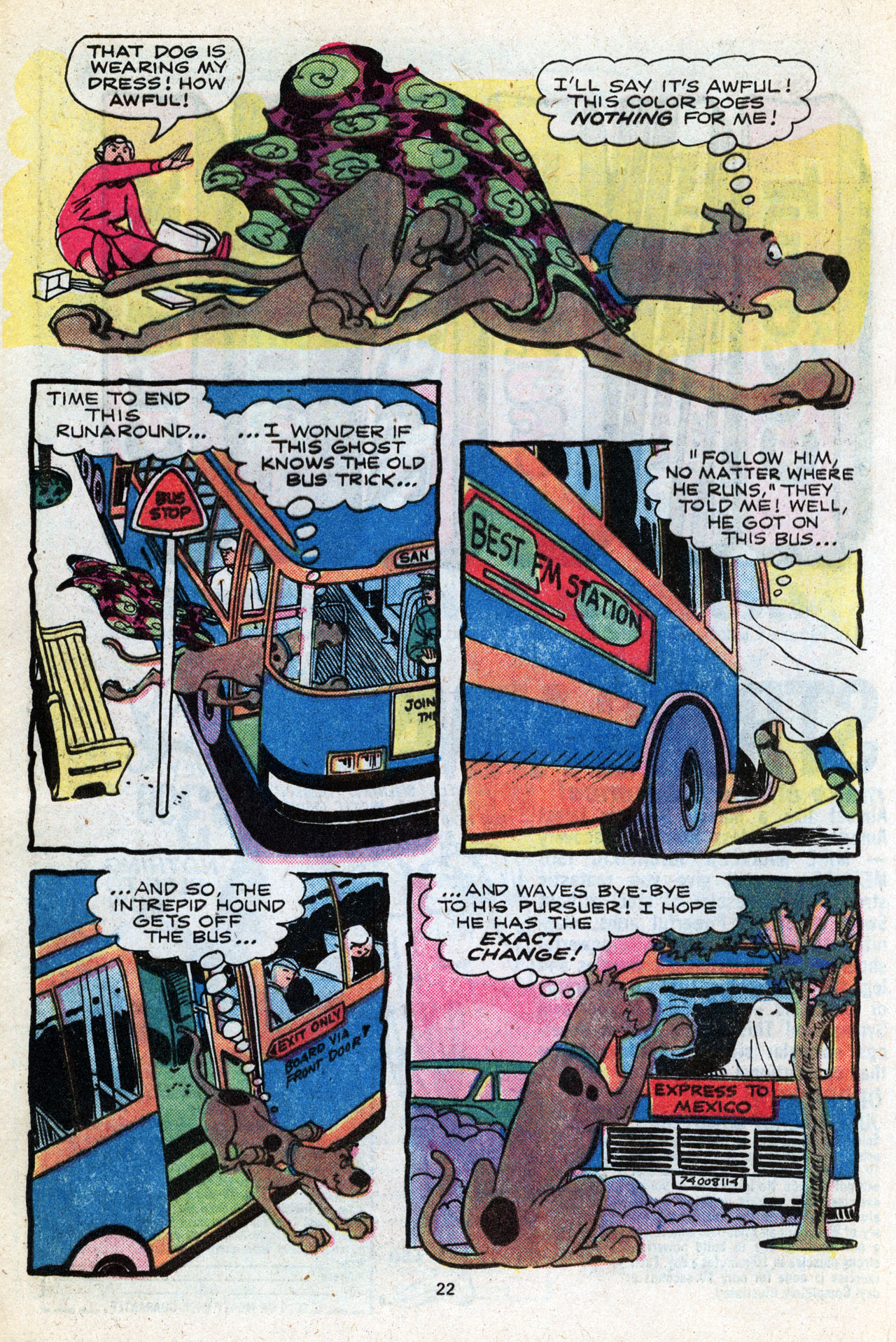 Read online Scooby-Doo (1977) comic -  Issue #3 - 24