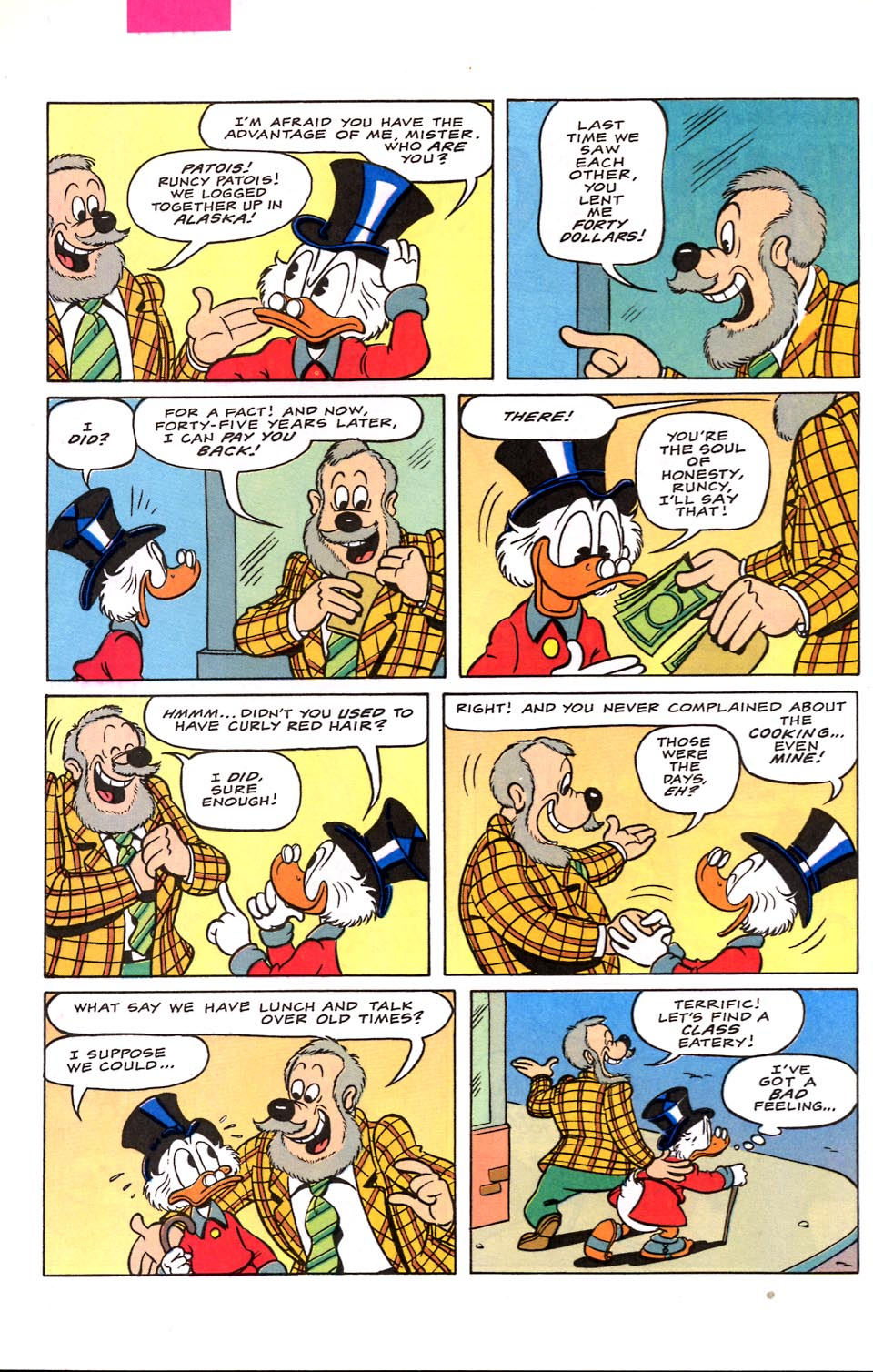 le Scrooge (1953) Issue # #122 - English 23