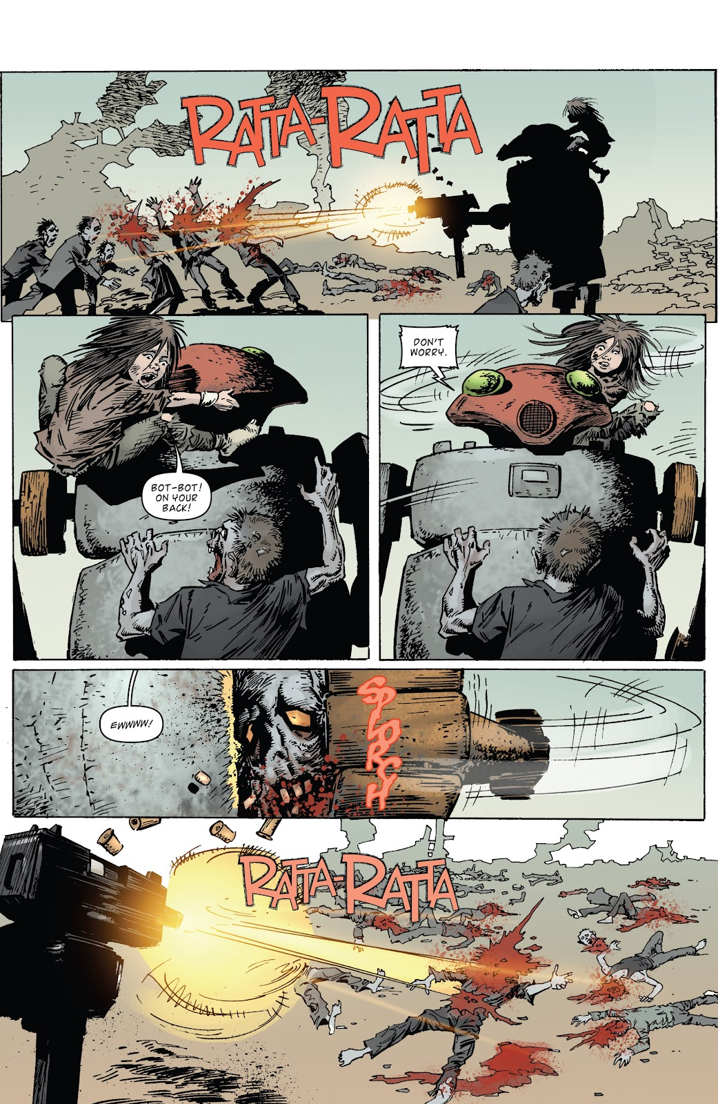 Zombies vs Robots (2015) Issue #3 Page 16