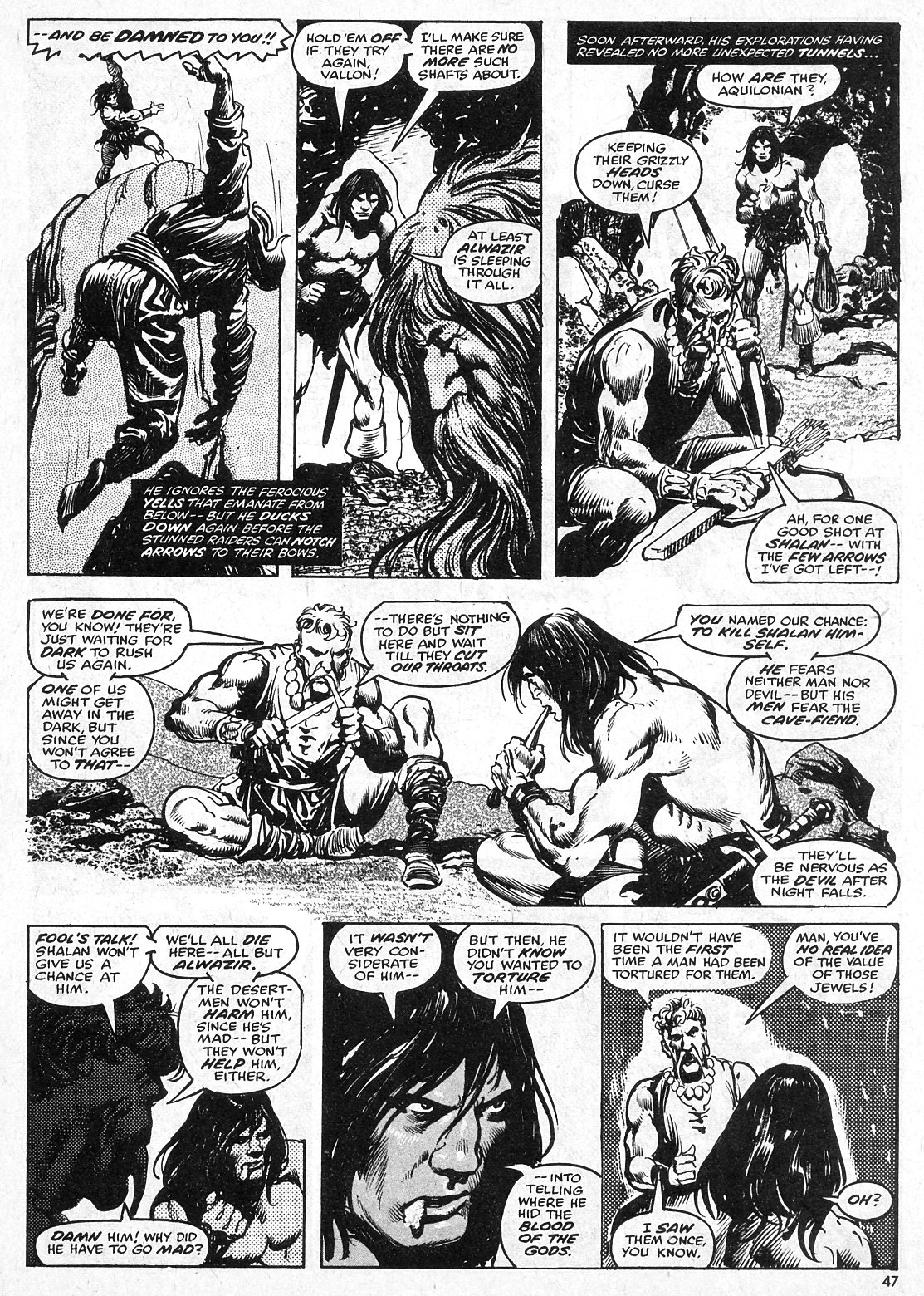 The Savage Sword Of Conan Issue #28 #29 - English 47
