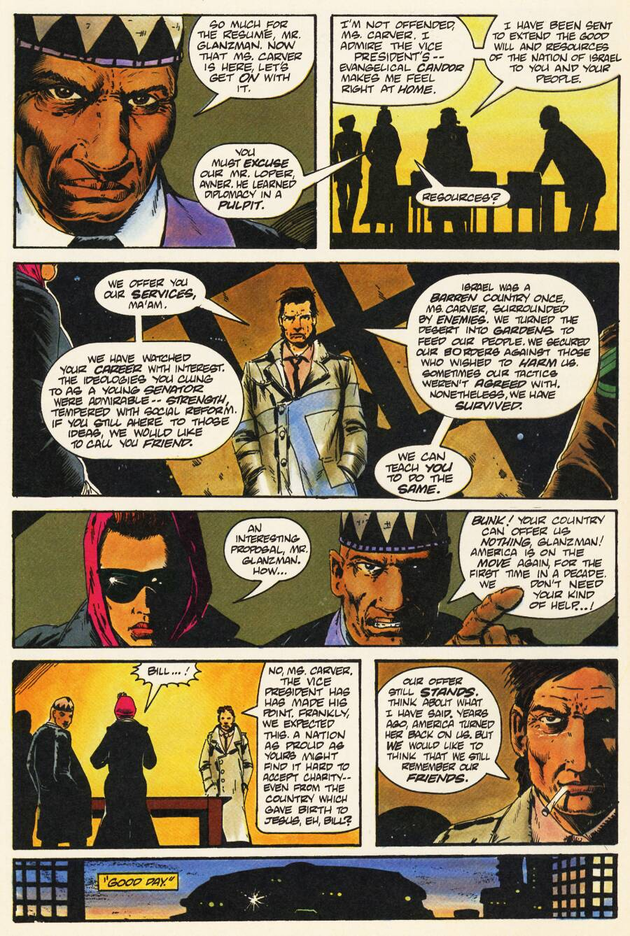 Read online Scout comic -  Issue #8 - 8