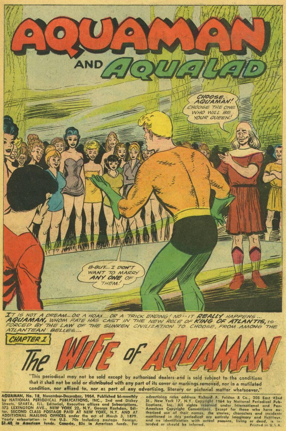 Aquaman (1962) Issue #18 #18 - English 3